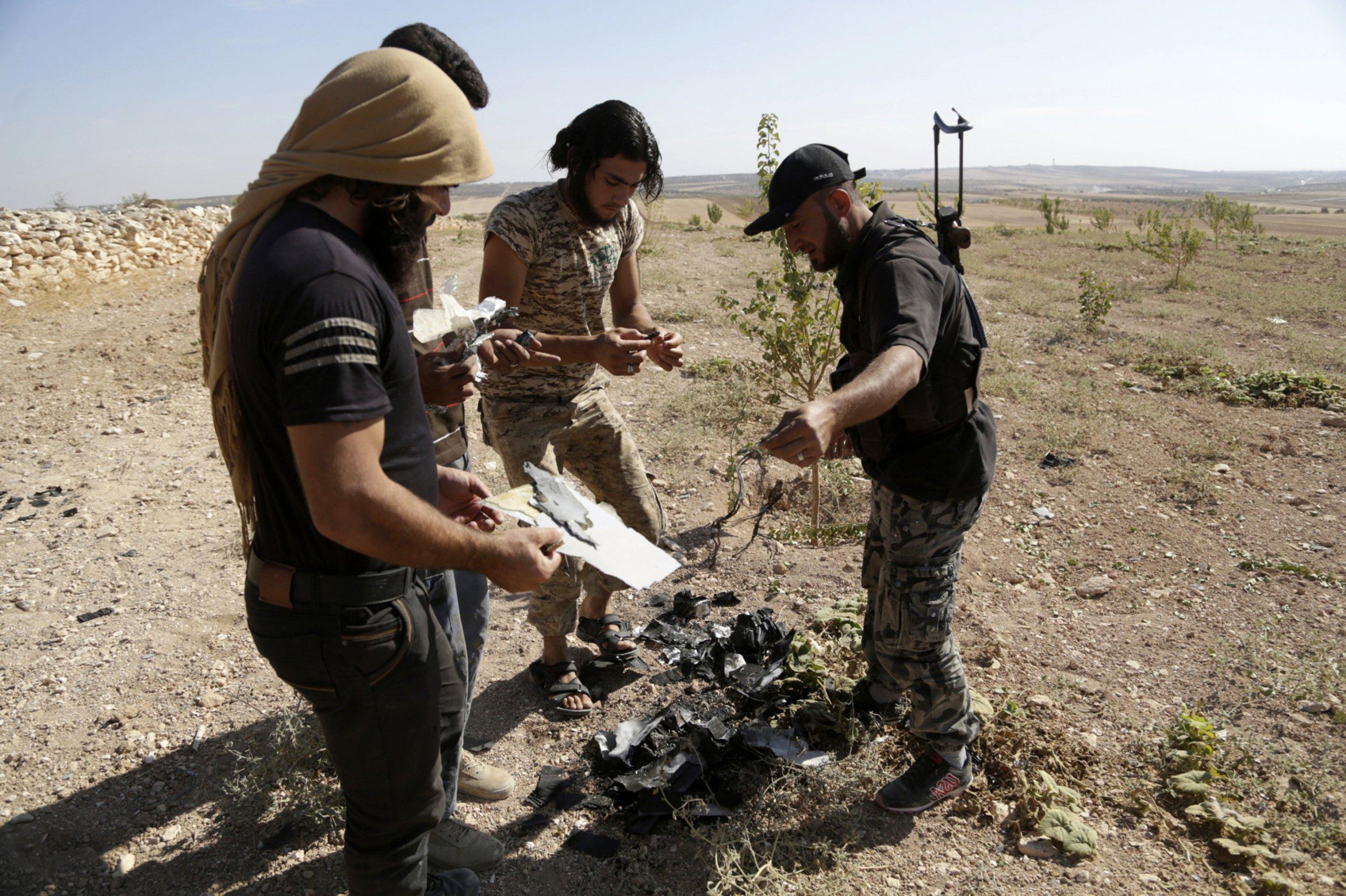 Ahrar al-Sham fighters