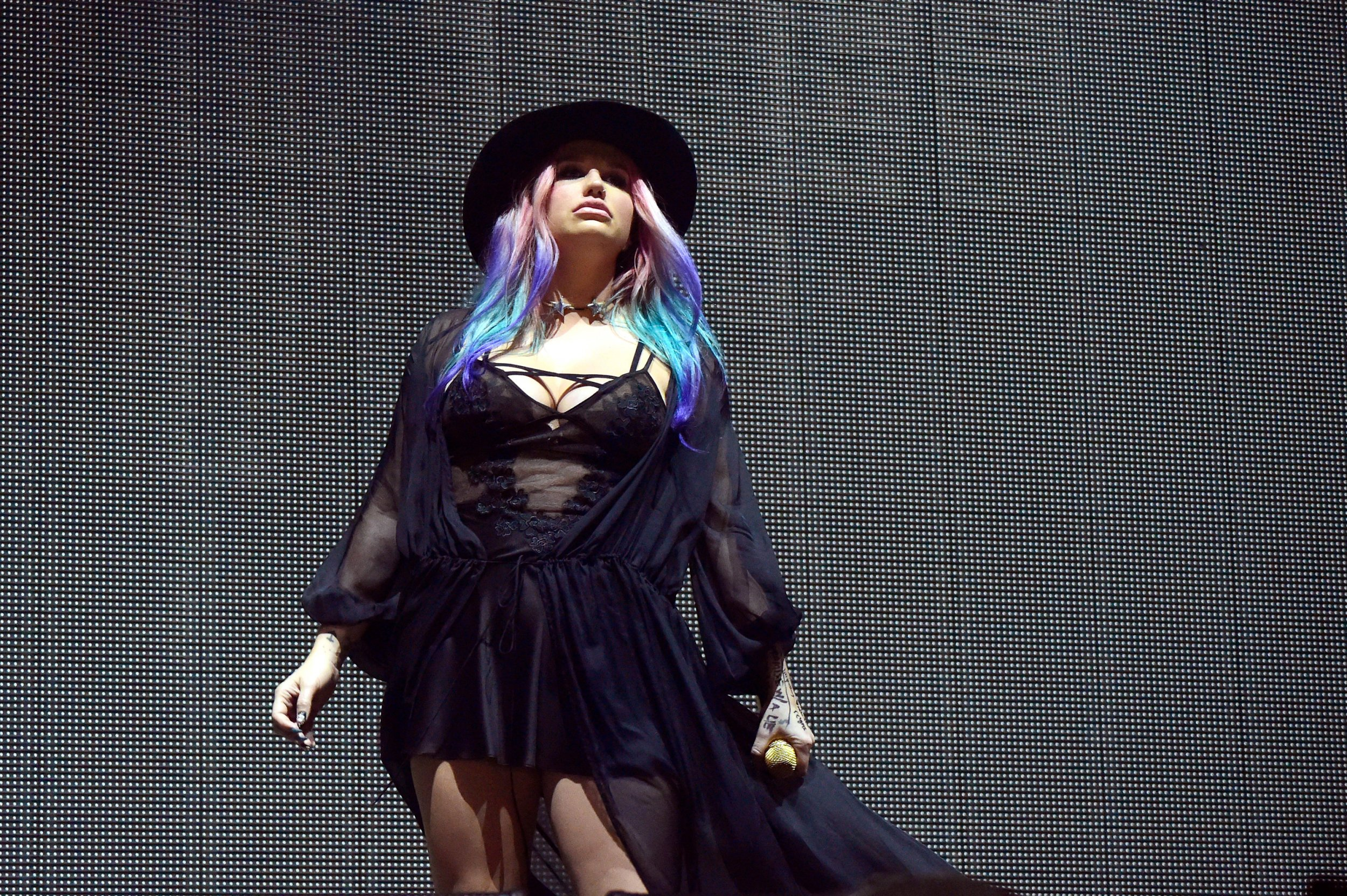 Kesha at Coachella