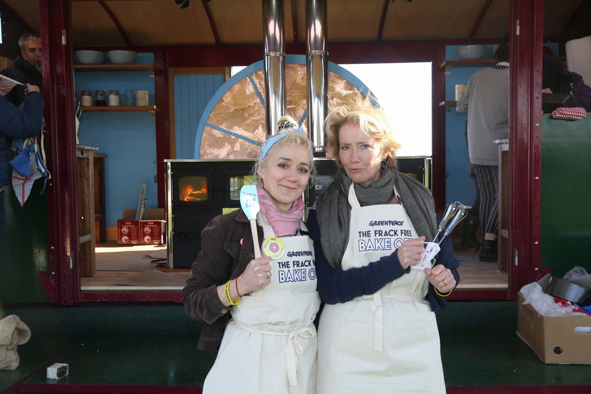 Emma Thompson's Frack Free Bake Off