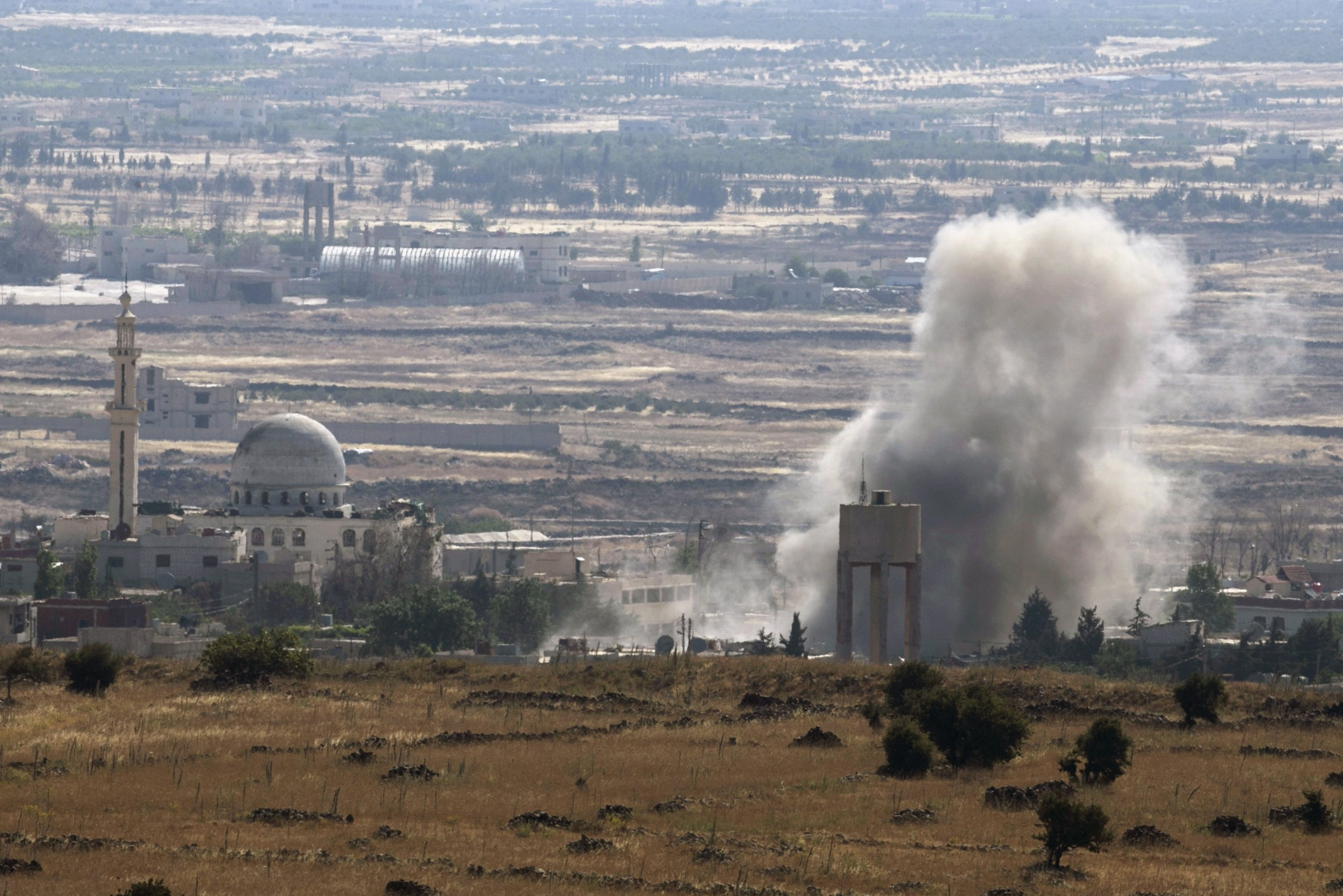Syria Golan ISIS Israel Middle East