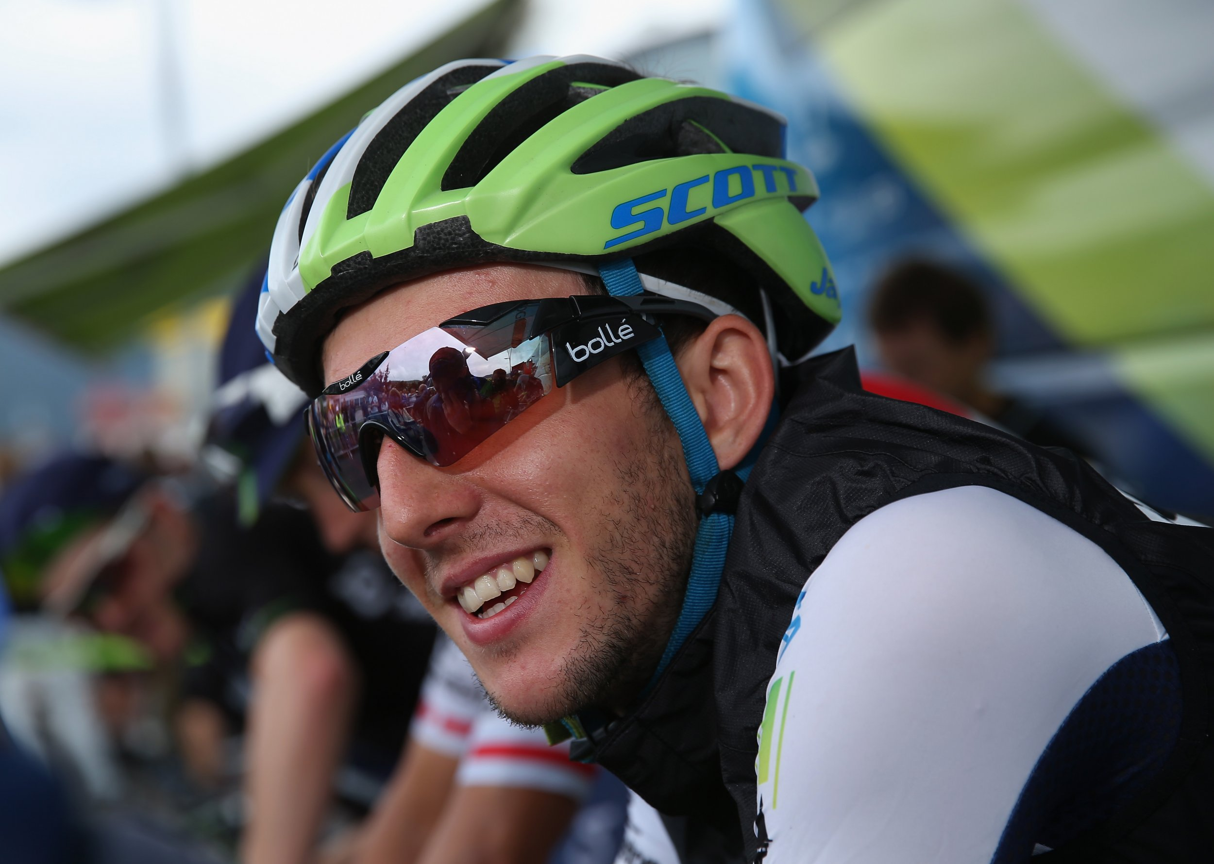 Cyclist Simon Yates