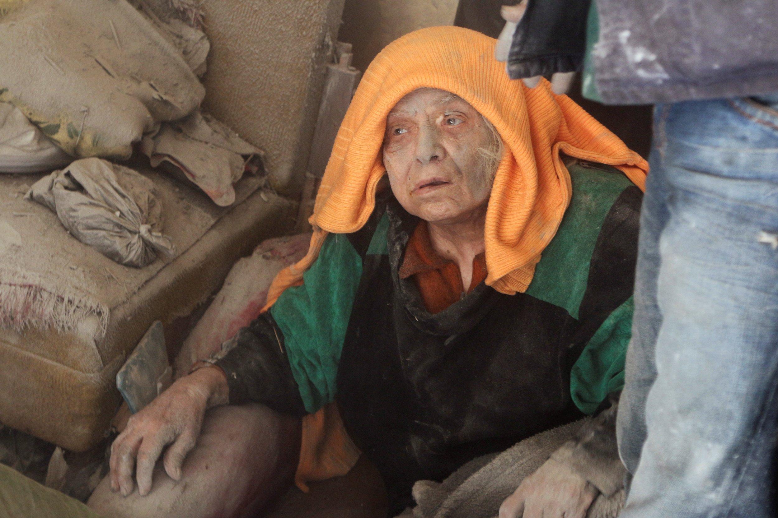Syria Strikes Aleppo Civilians
