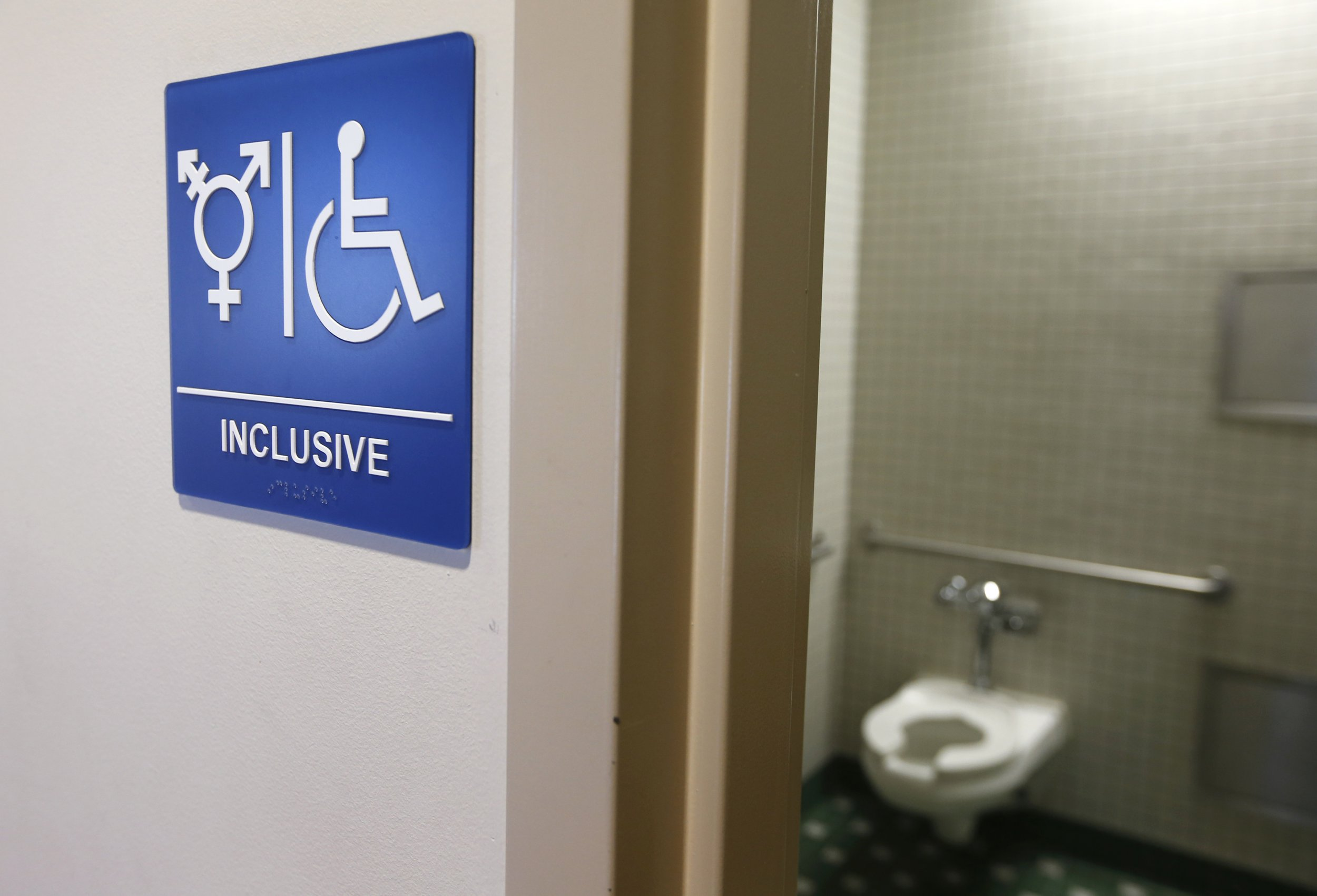 Bathroom Signs History denying transgender people bathroom access is linked to suicide