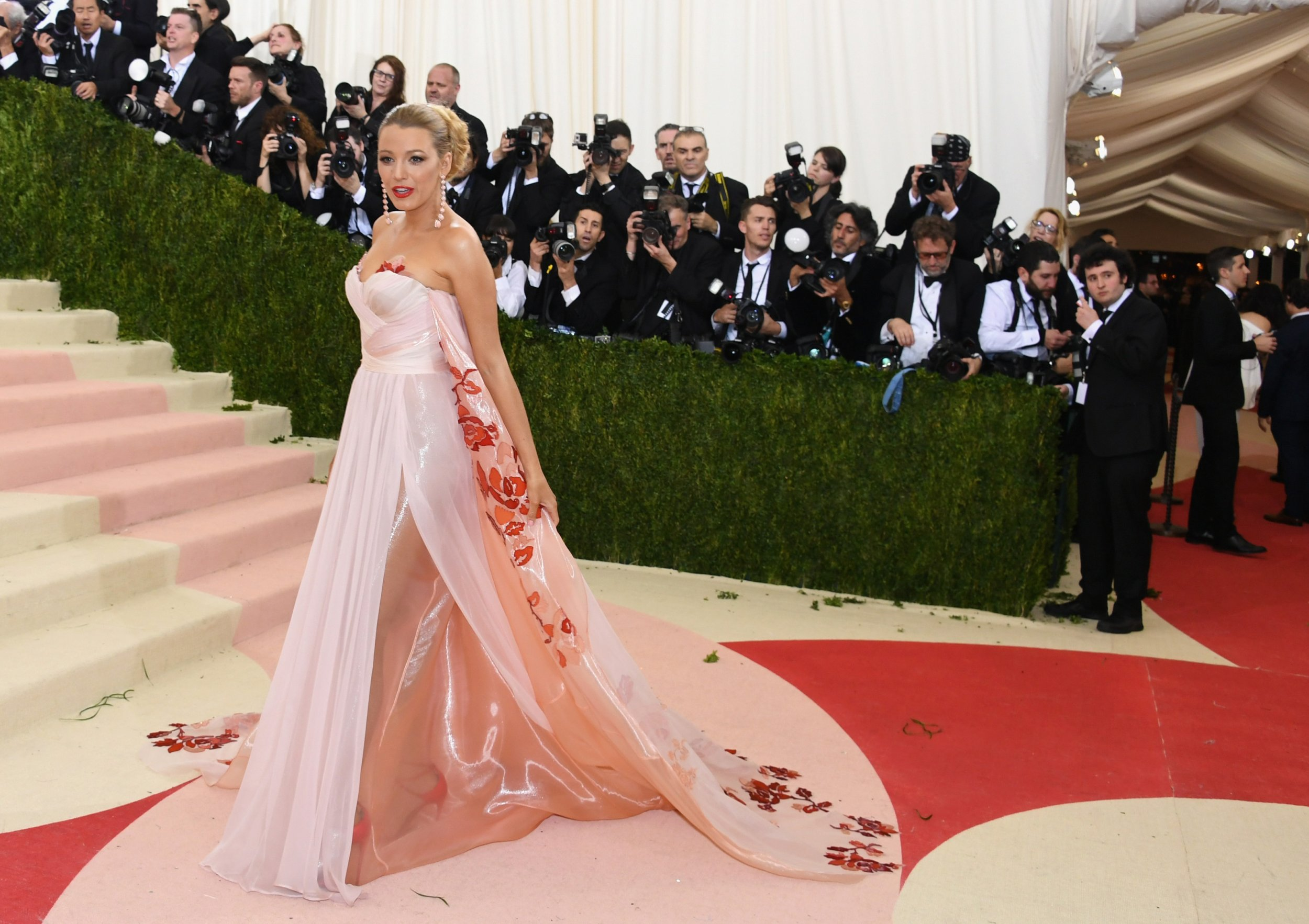 b76992c03cf Blake Lively at the 2016 Met Gala. Larry Busacca Getty. Never one to  disappoint on a red carpet ...