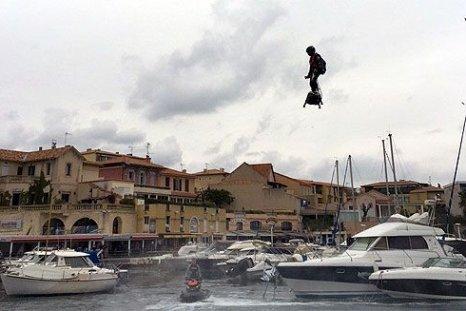 Hoverboard-man