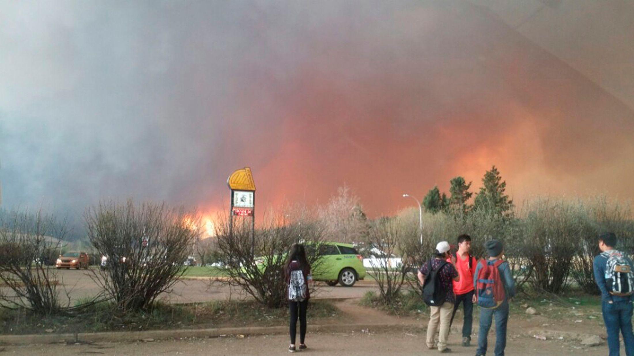 Canada Alberta Wildfire