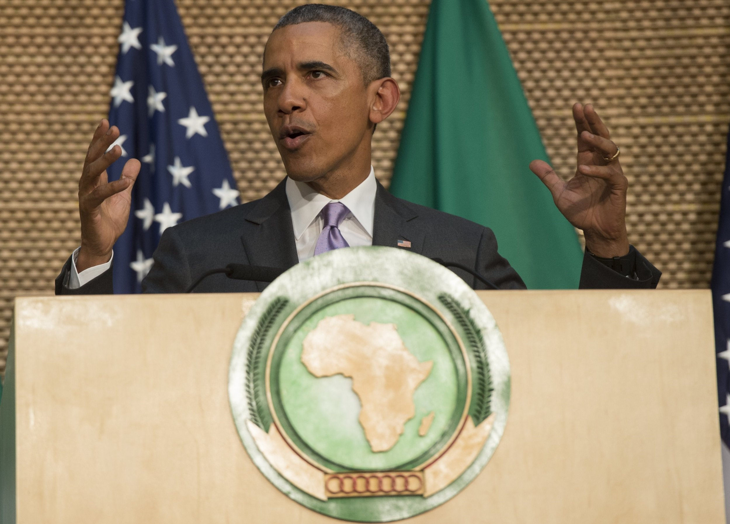 Obama delivers African Union speech