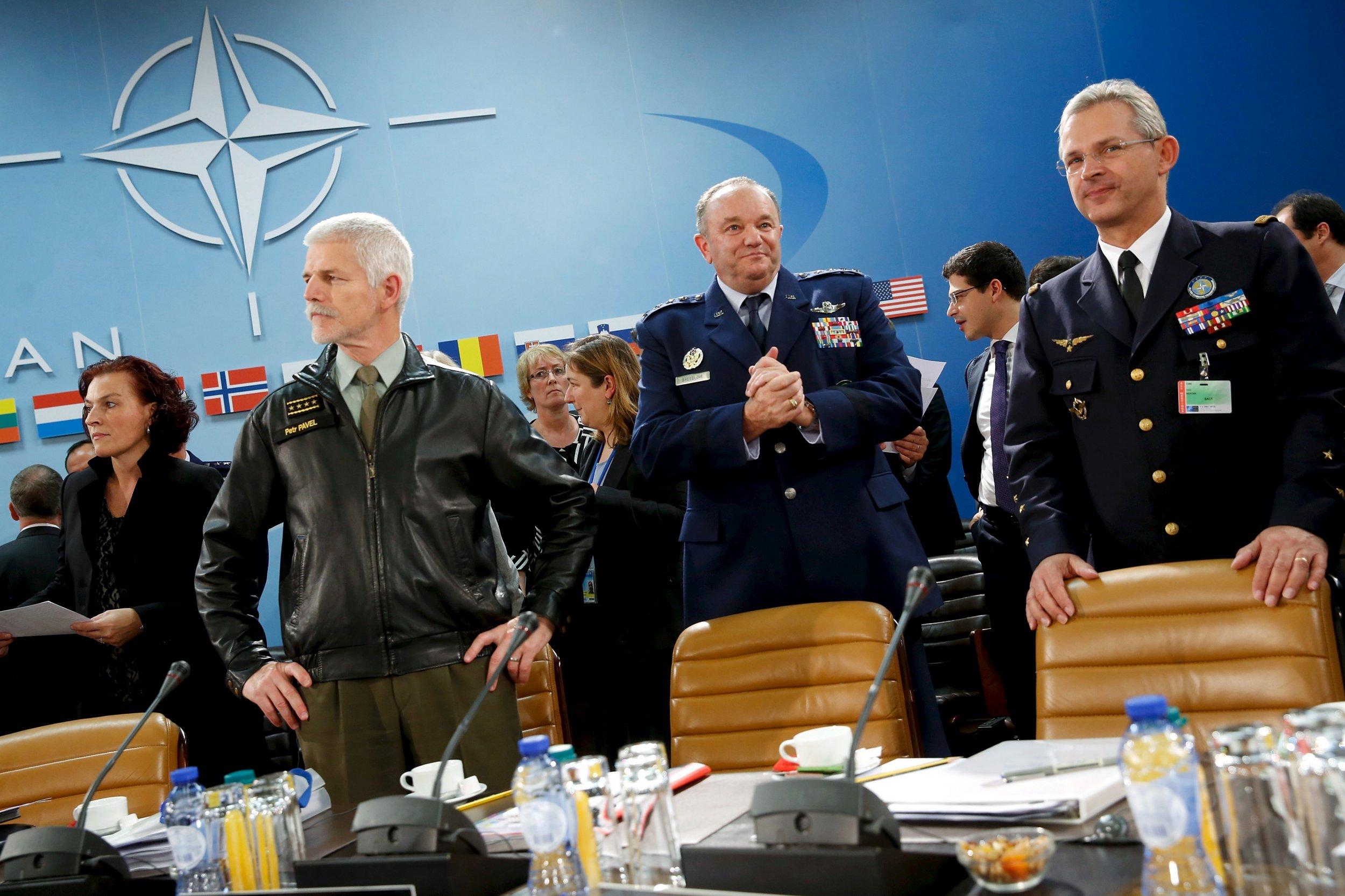 Breedlove and other NATO officials