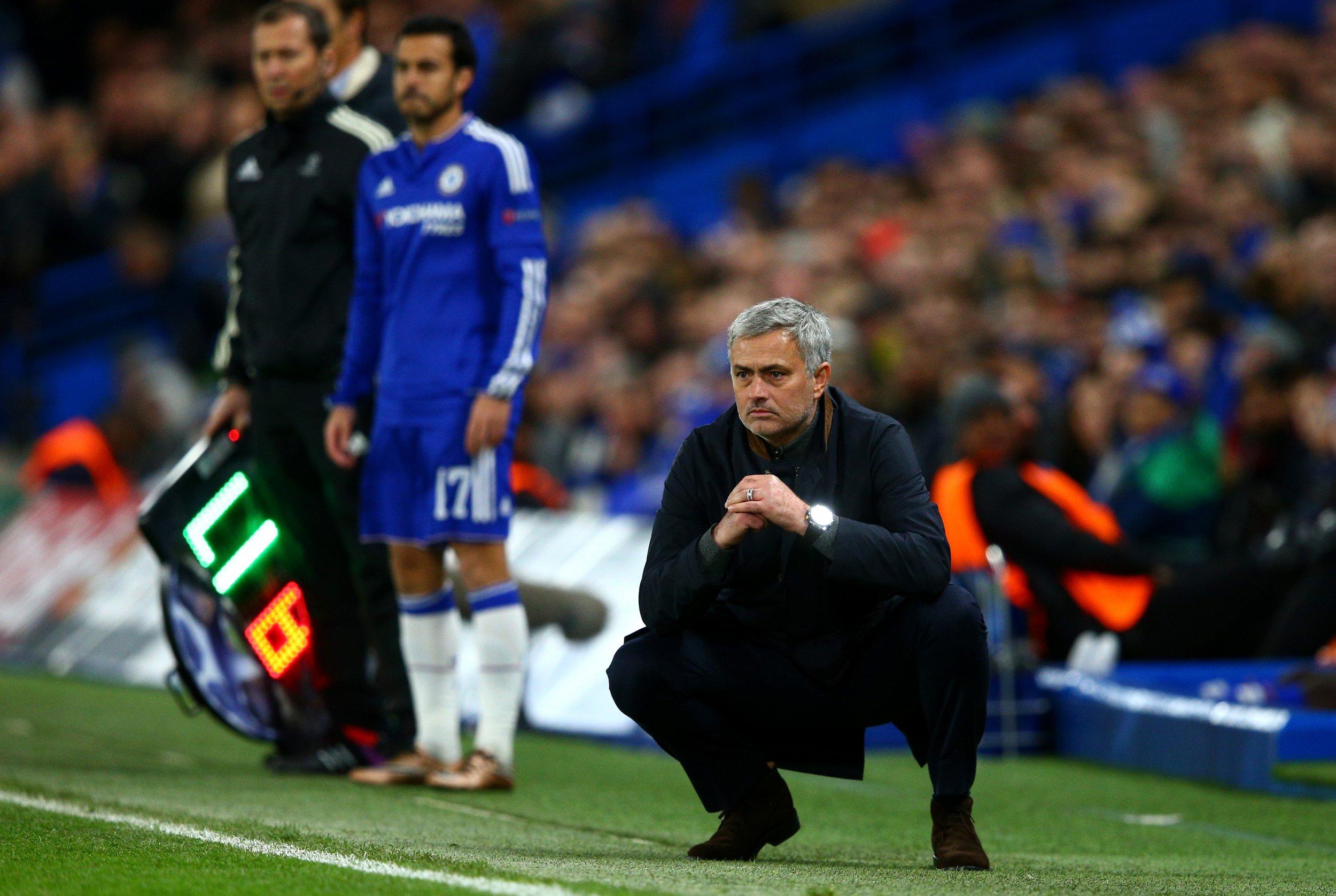 Jose Mourinho, former Chelsea manager.
