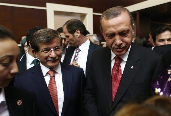 Erdogan Davutoglu Turkey