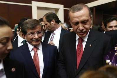 Erdogan Davutoglu Turkey