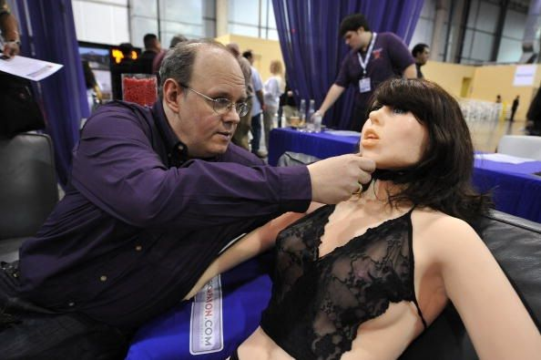 Dr. with sex robot