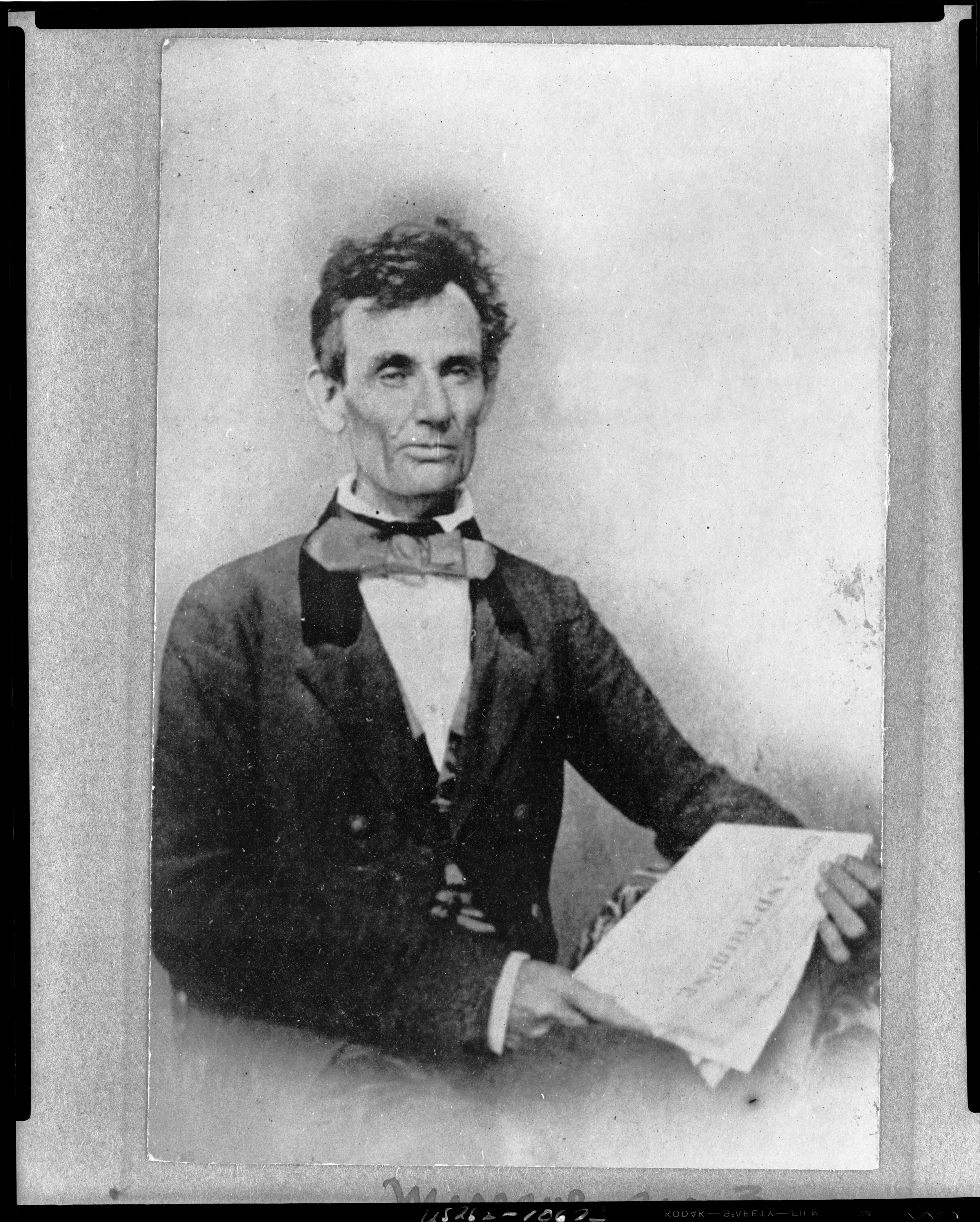 Abraham Lincoln On His Illinois Childhood: 'I Used To Be A