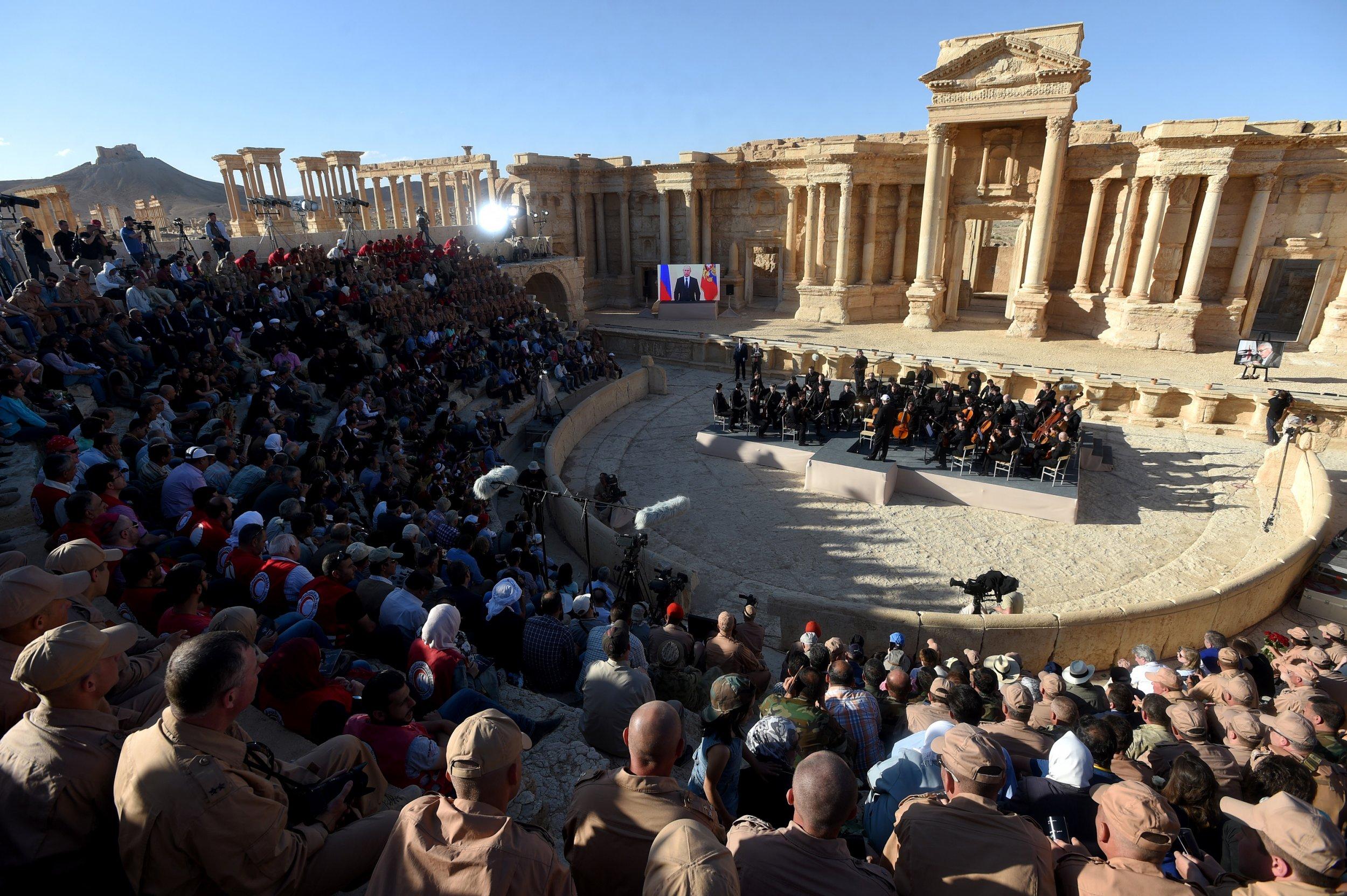 Palmyra Syria ISIS Middle East Syria