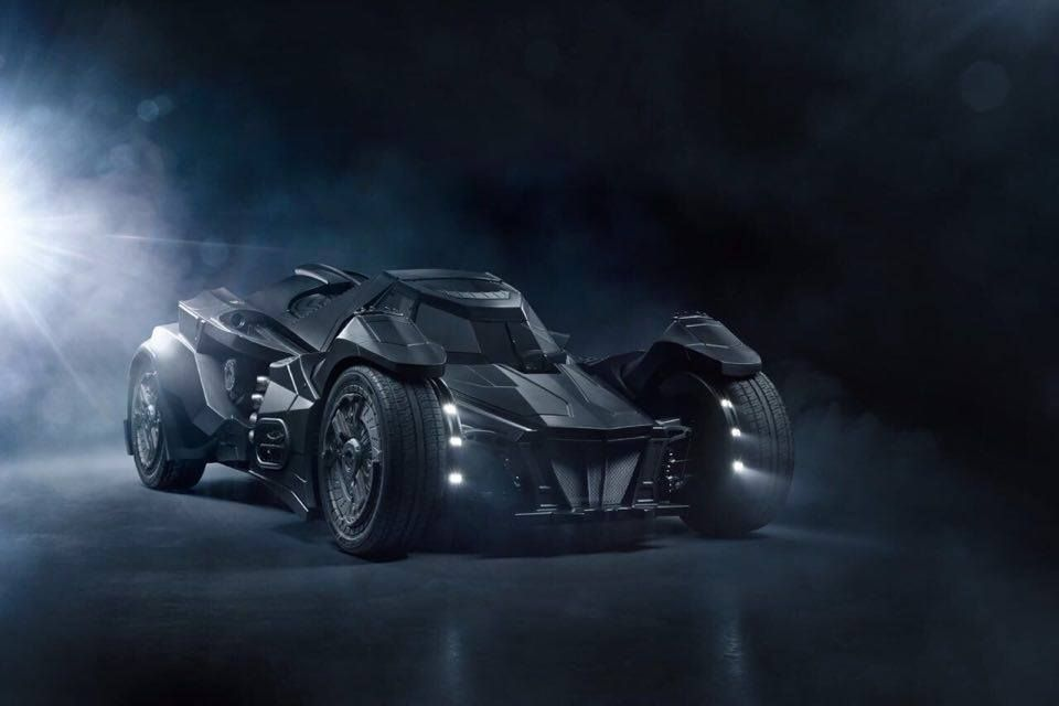 Real Life Arkham Knight Batmobile At Gumball 3000 Rally