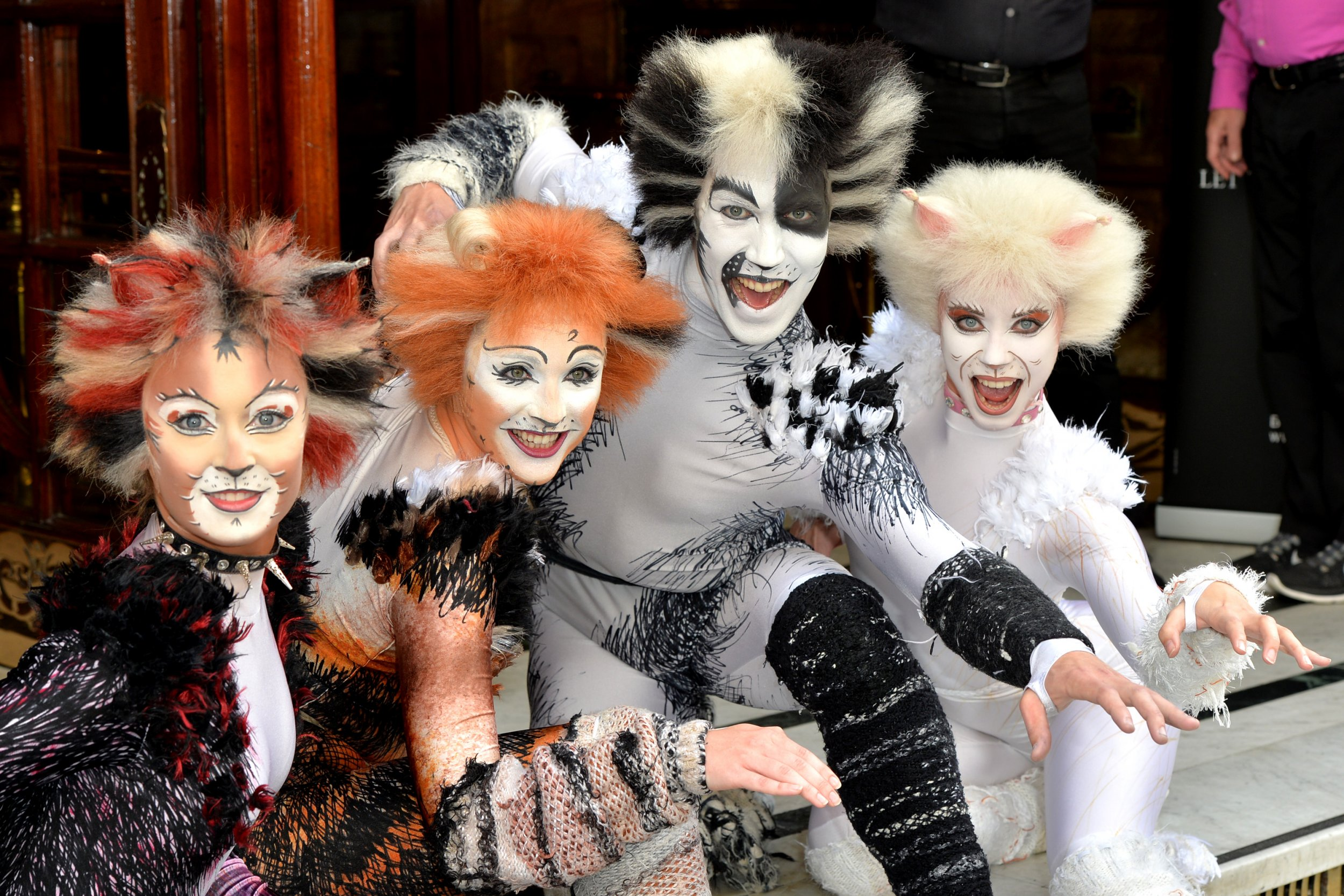 Cats musical  sc 1 st  Newsweek & Catsu0027 Movie: u0027Les Miserablesu0027 Team Reunites for Andrew Lloyd Webber ...