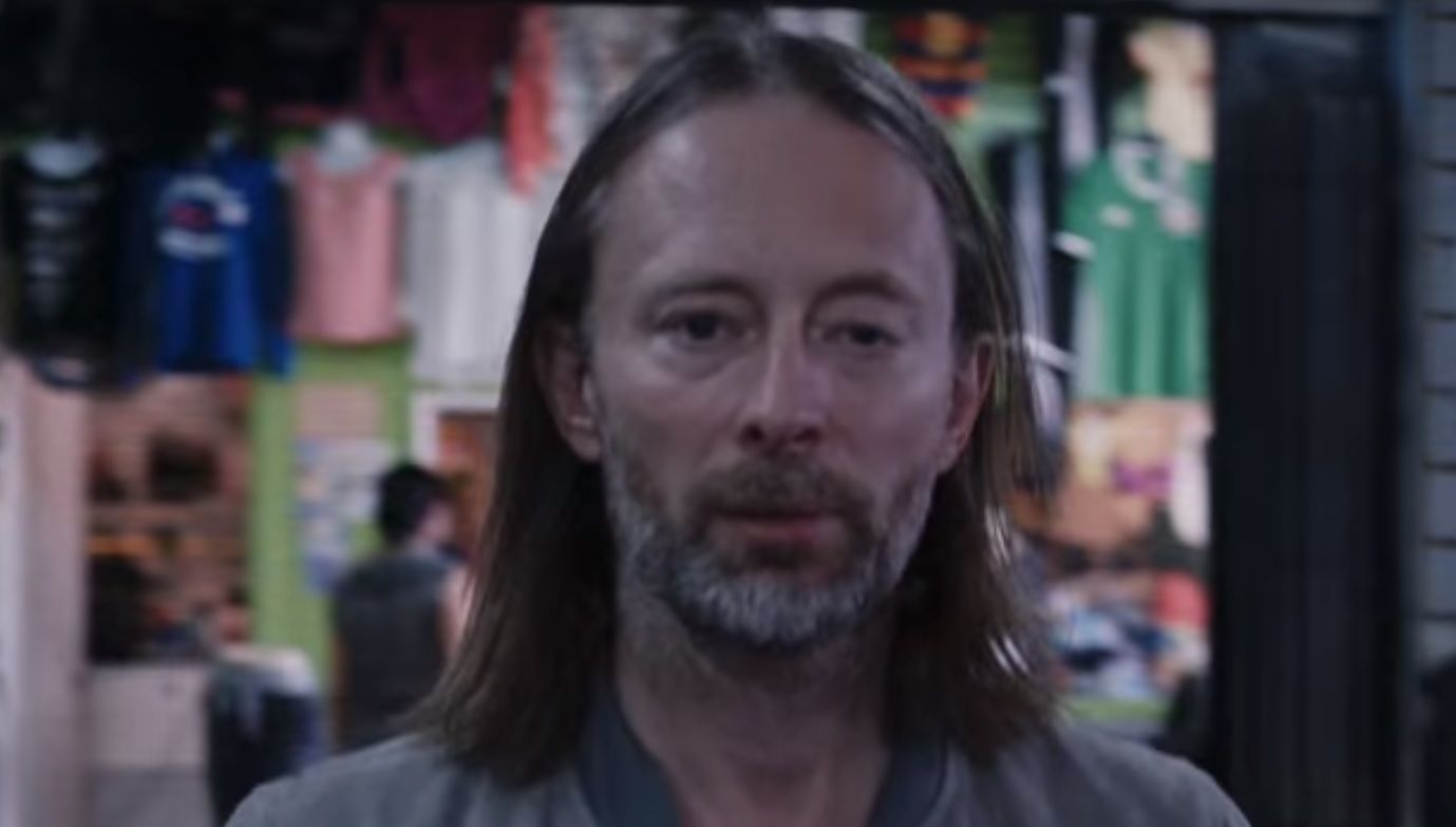 Radiohead's Thom Yorke in Daydreaming video