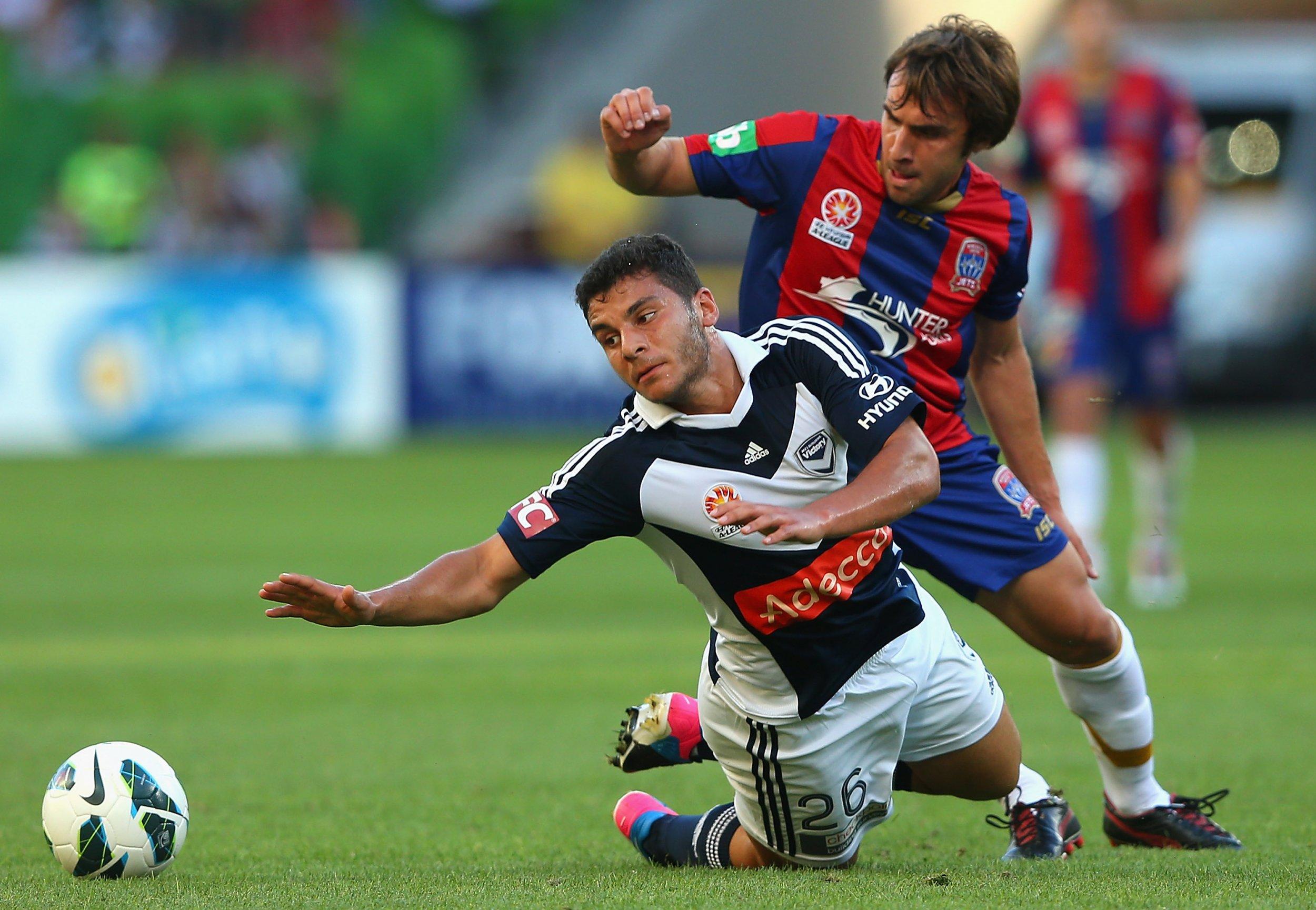 Bernardo Ribeiro, right, and Andrew Nabbout.