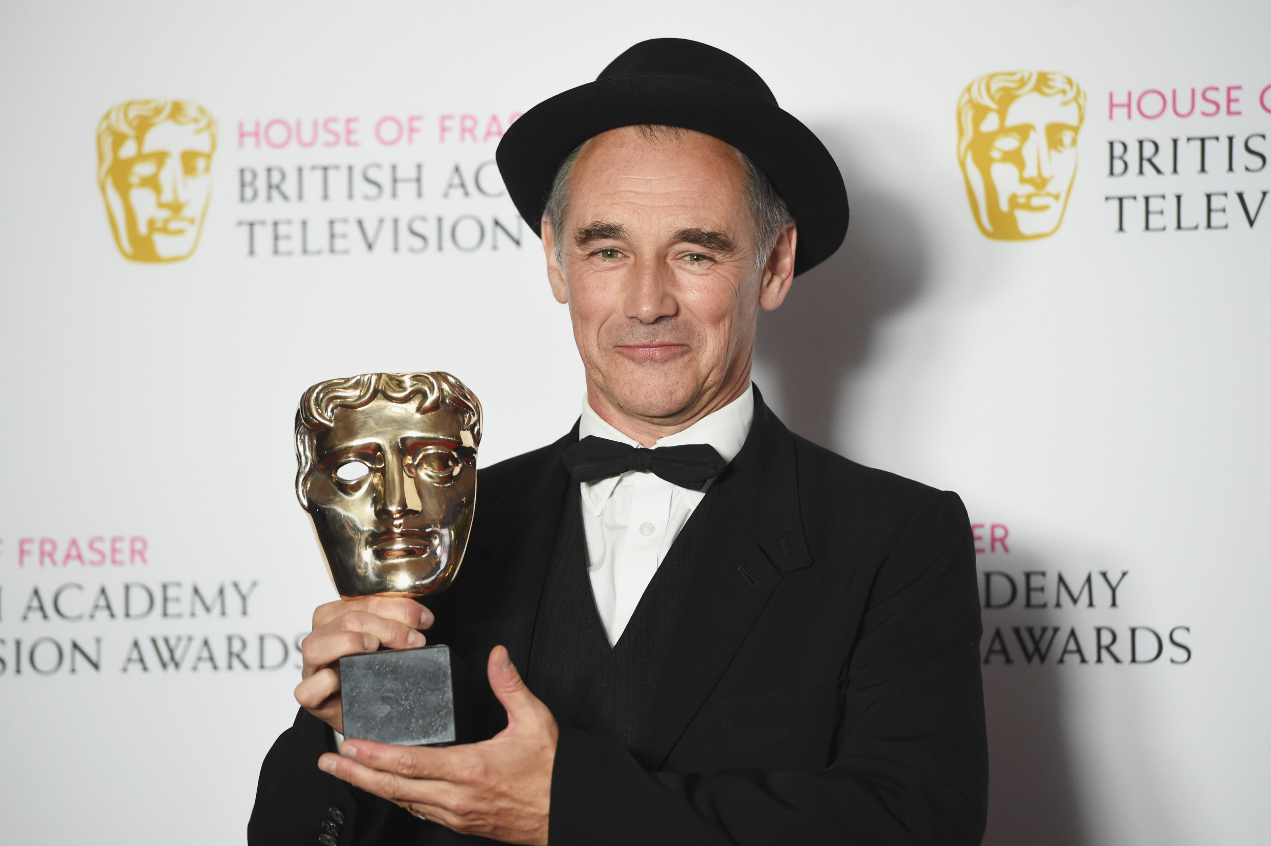 Mark Rylance at BAFTA TV Awards