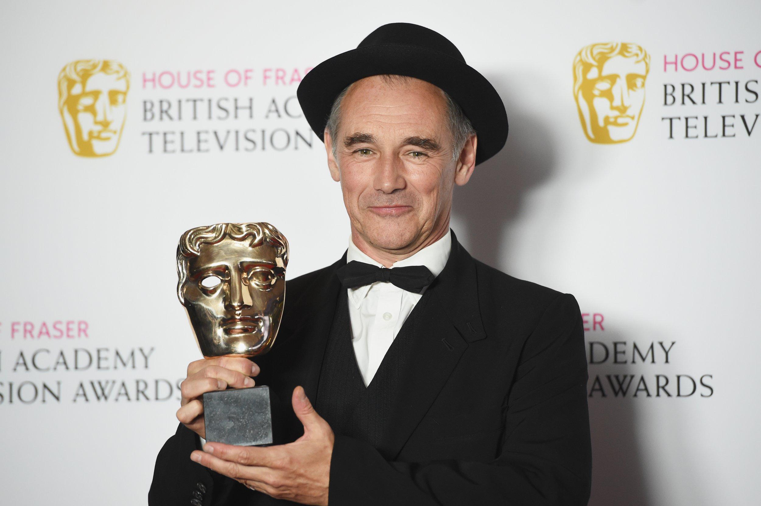 Mark Rylance at BAFTA TV Awards