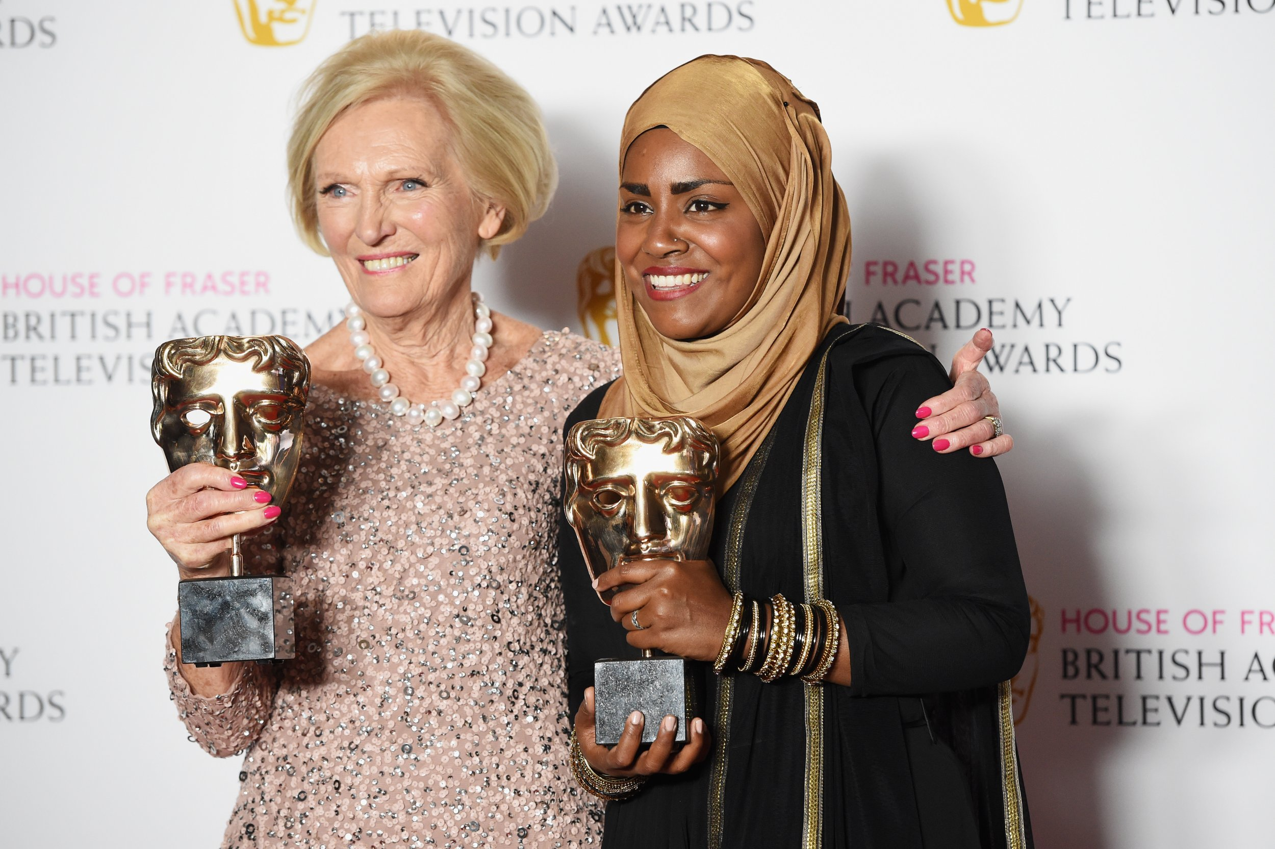 Bake Off wins BAFTA