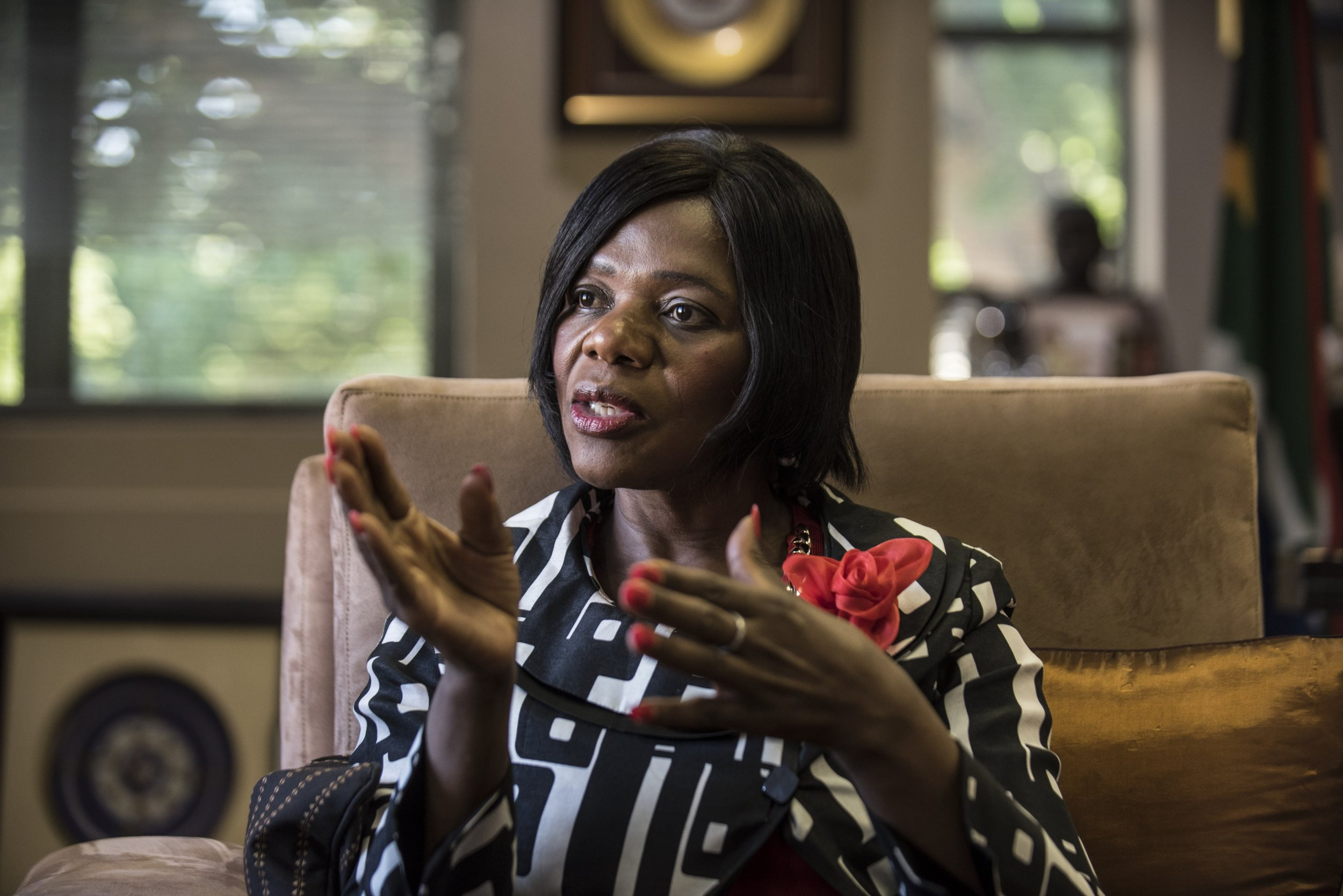 South Africa's Public Protector Thuli Madonsela.