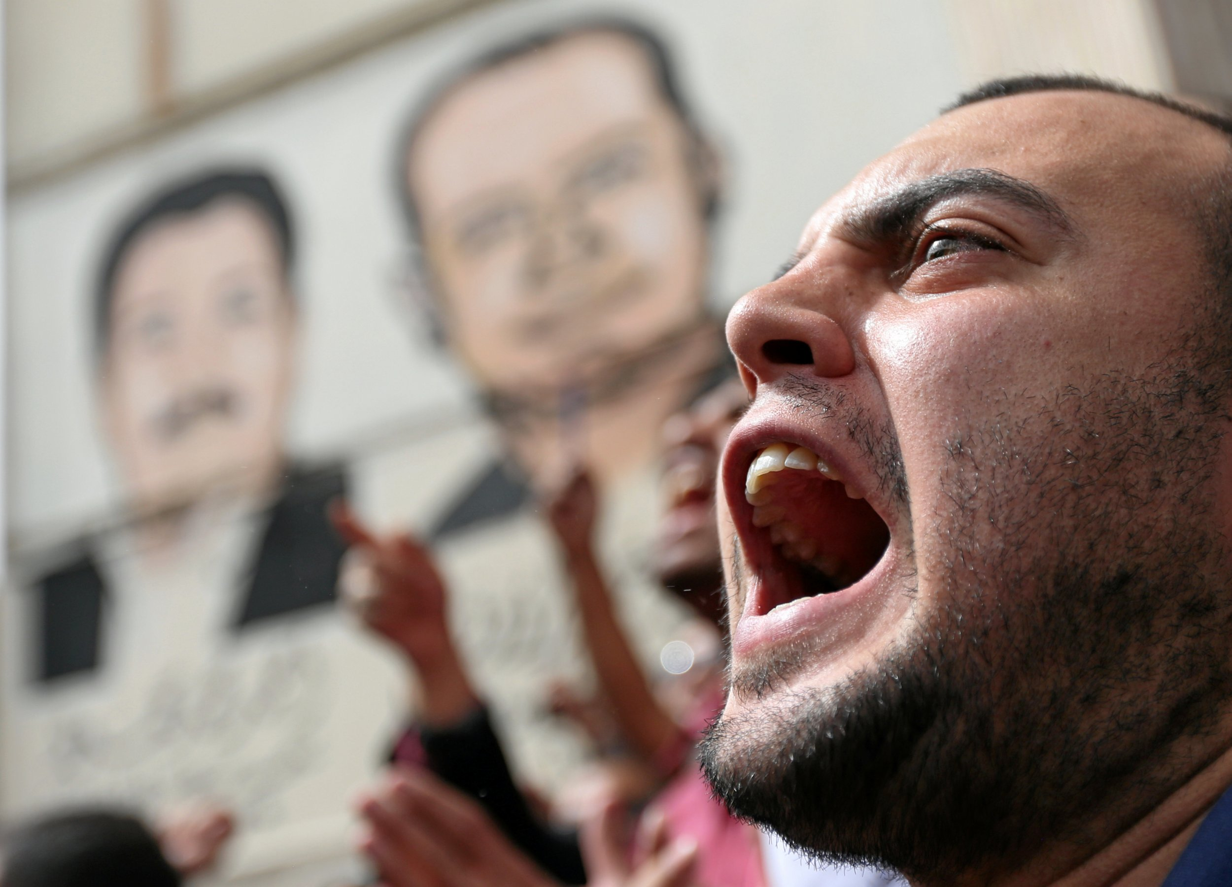 Journalists protest in Cairo