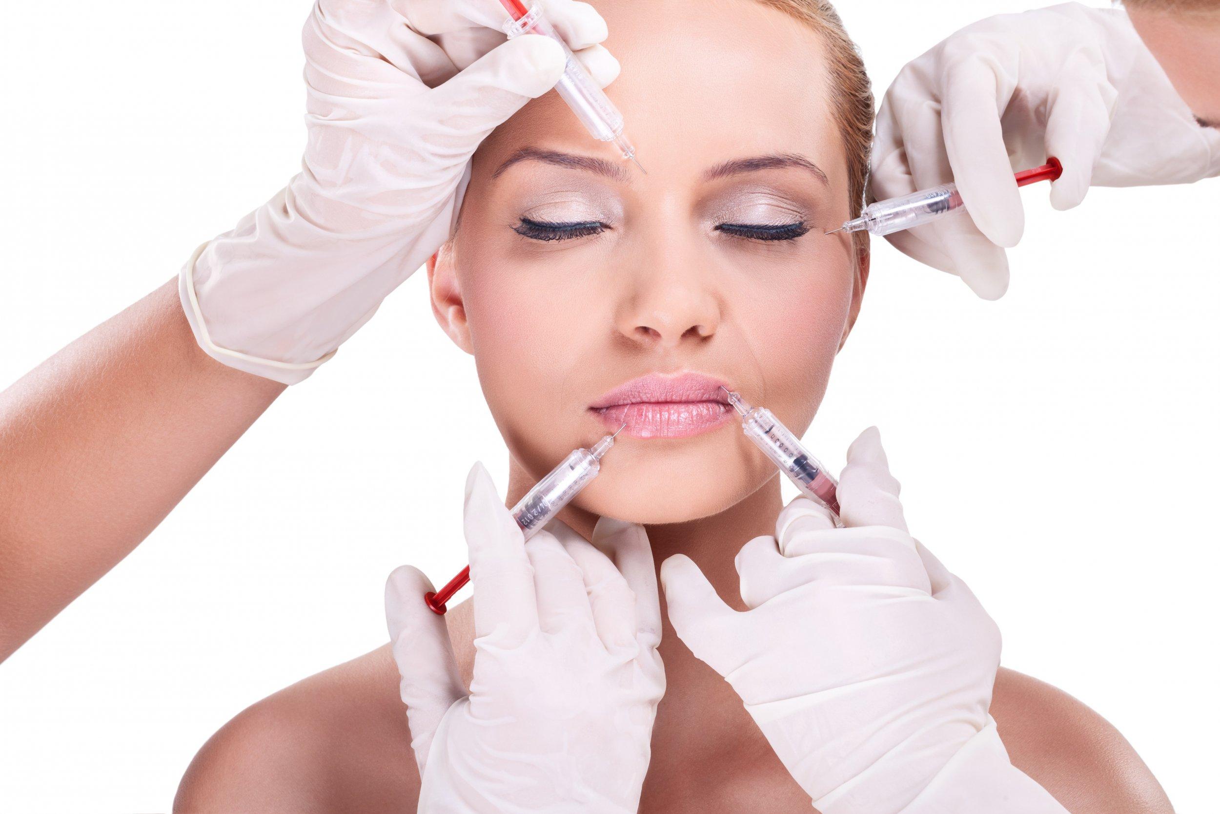 Botox anti-aging skin treatment