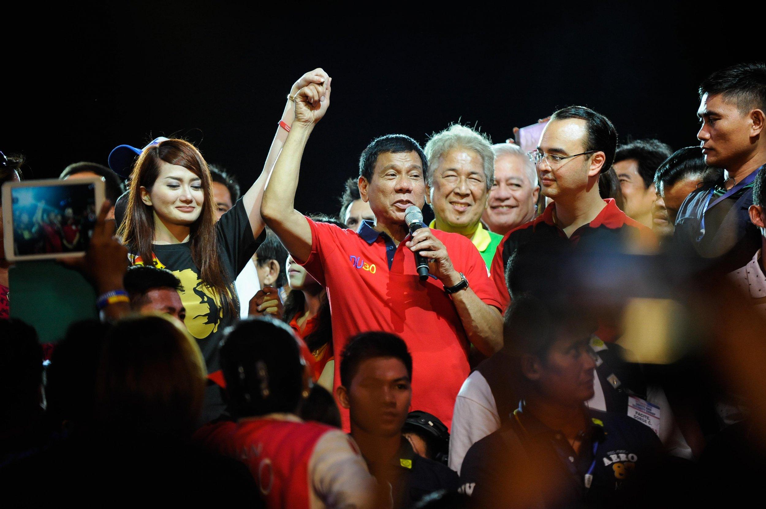 Philippines president-elect Rodrigo Duterte