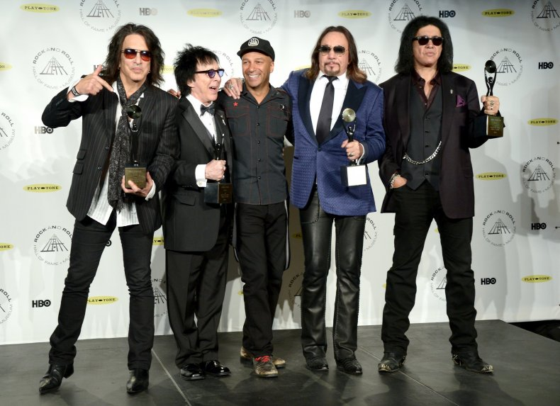 Kiss in Rock and Roll Hall of Fame