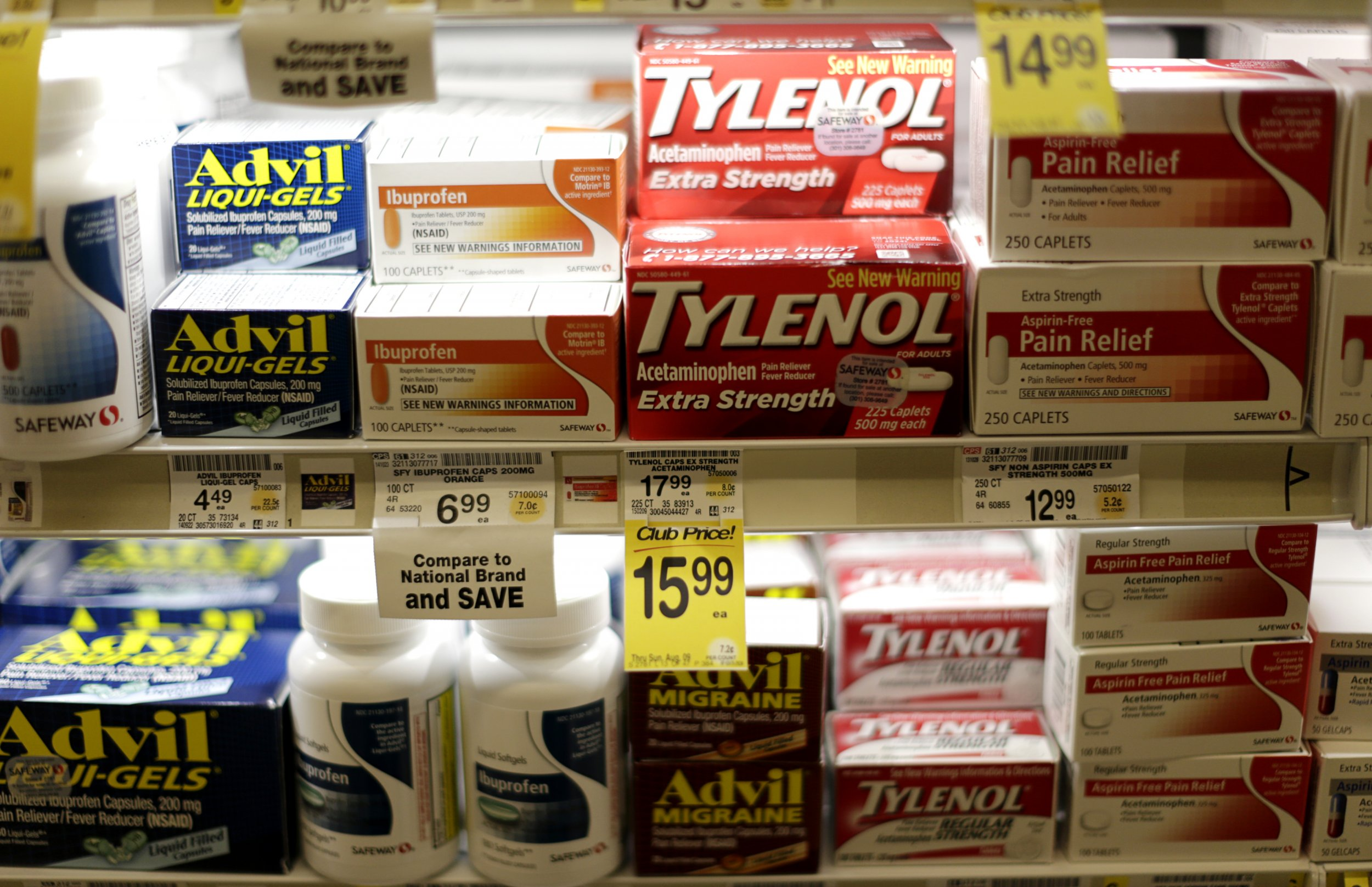Could taking acetaminophen reduce your sensitivity to other people's pain?