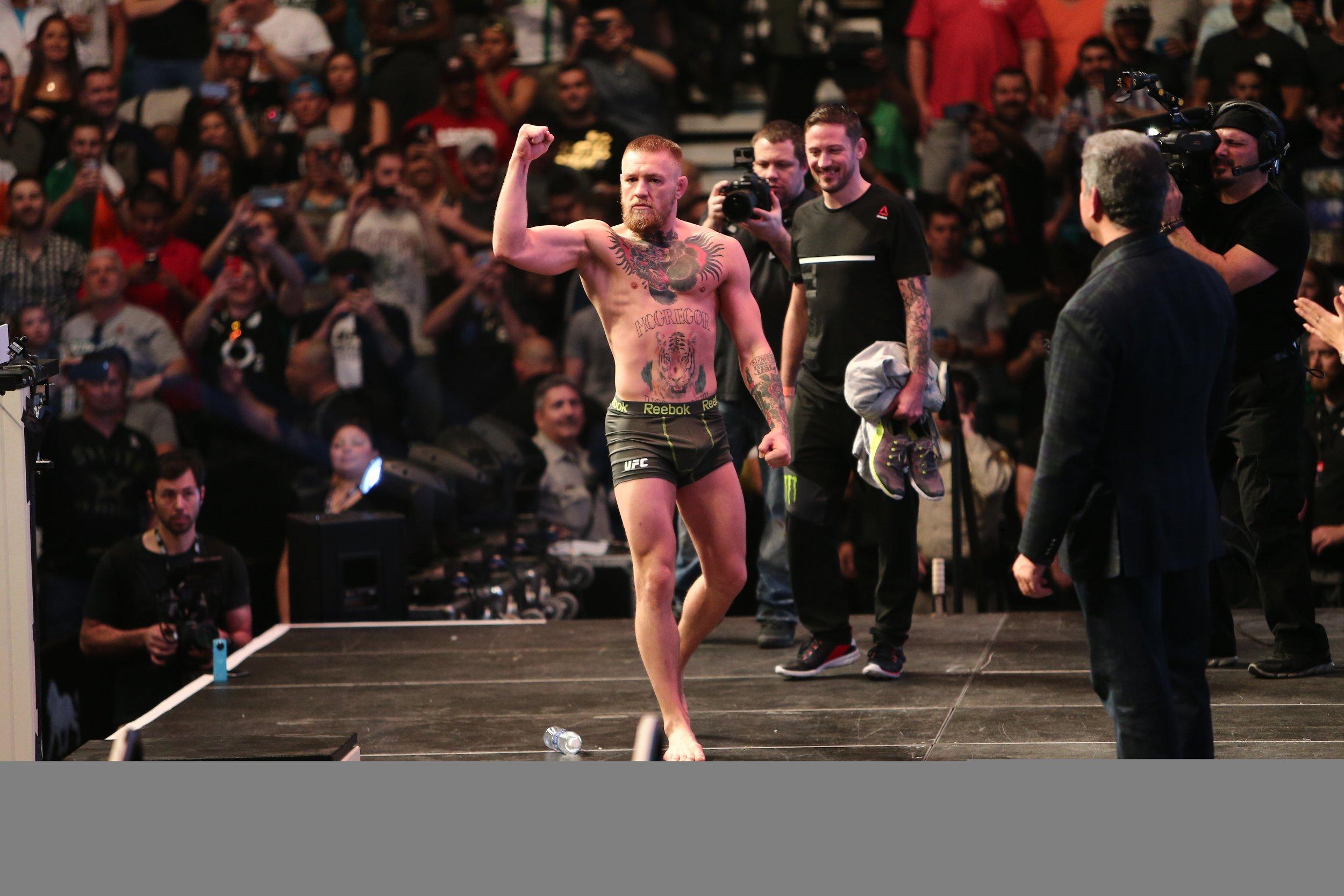 Mixed martial artist Conor McGregor.