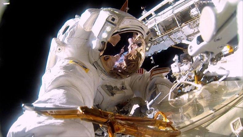 5-10-16 A Beautiful Planet spacewalk
