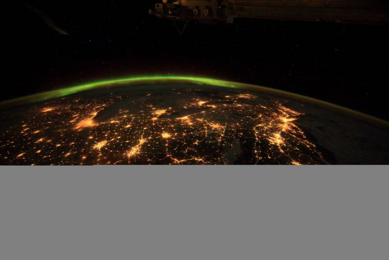 5-10-16 A Beautiful Planet night view
