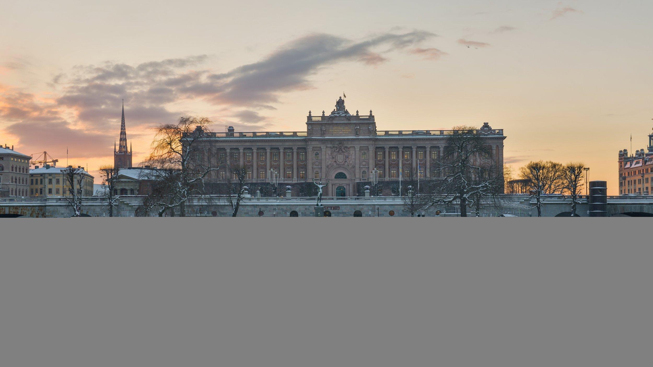 Swedish parliament Riksdagen