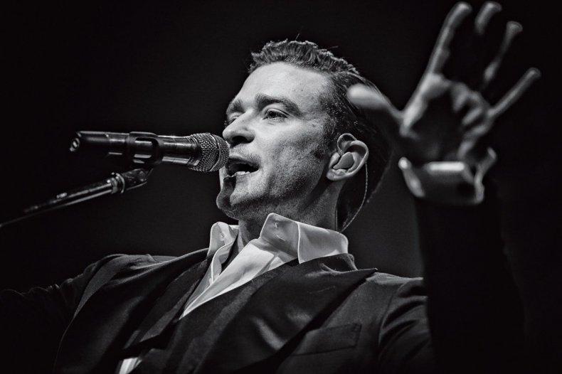 Justin Timberlake Performs In London, 2013.