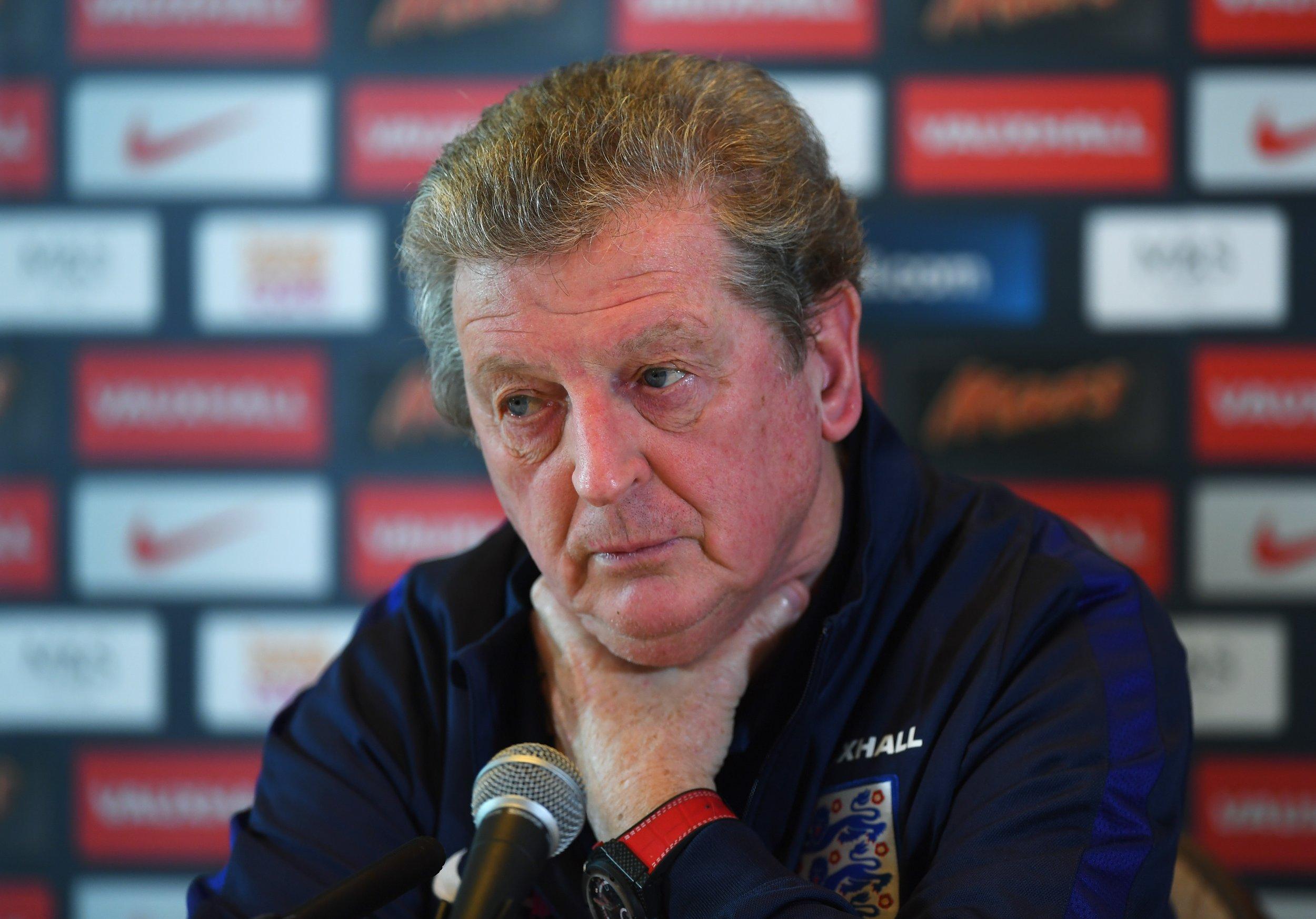 England manager Roy Hodgson.