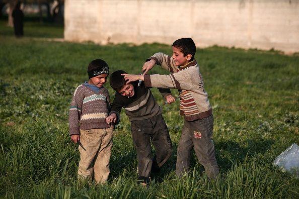 Islamic State Syria Kids