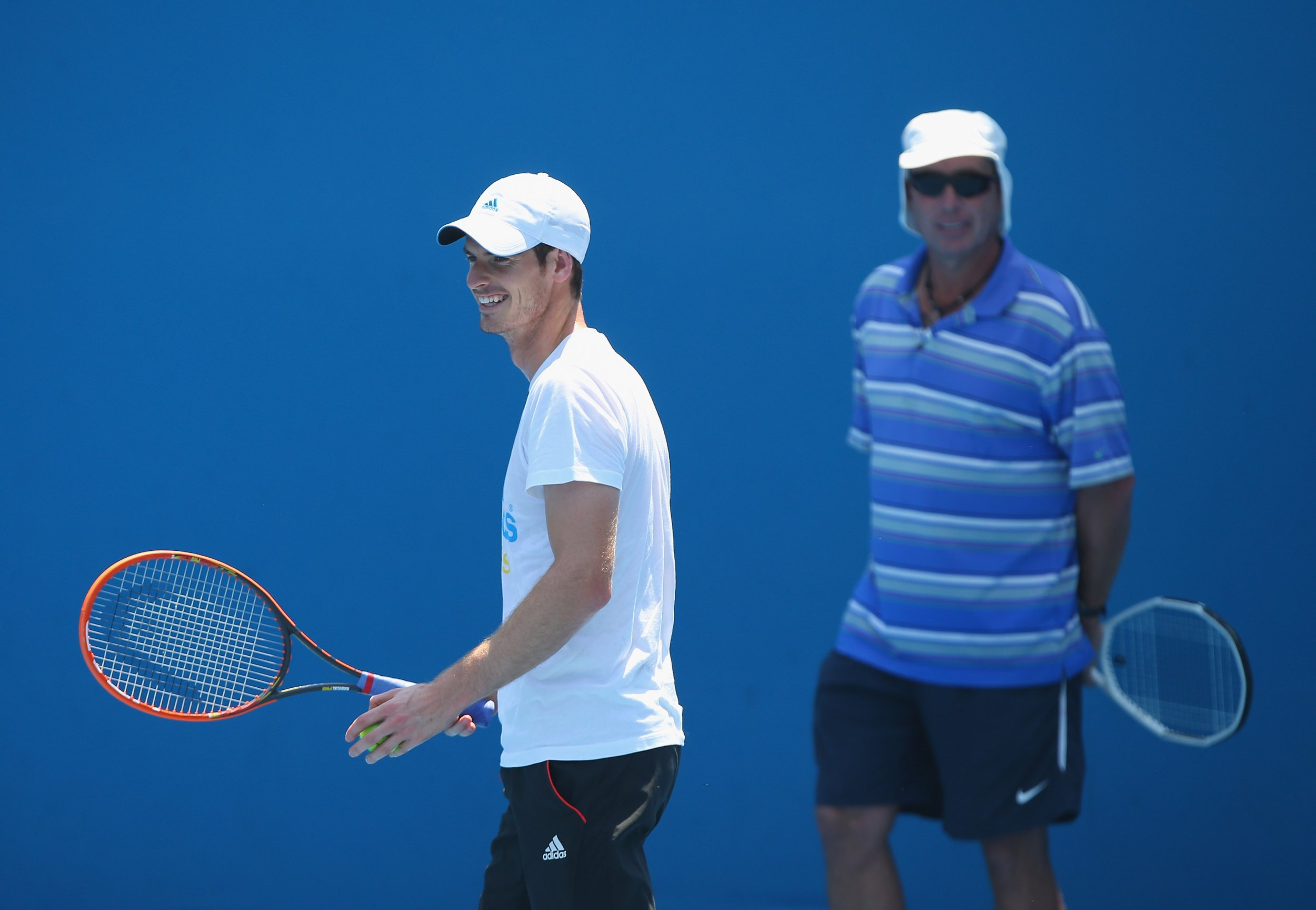 Andy Murray with Ivan Lendl