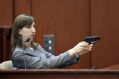 George Zimmerman's gun