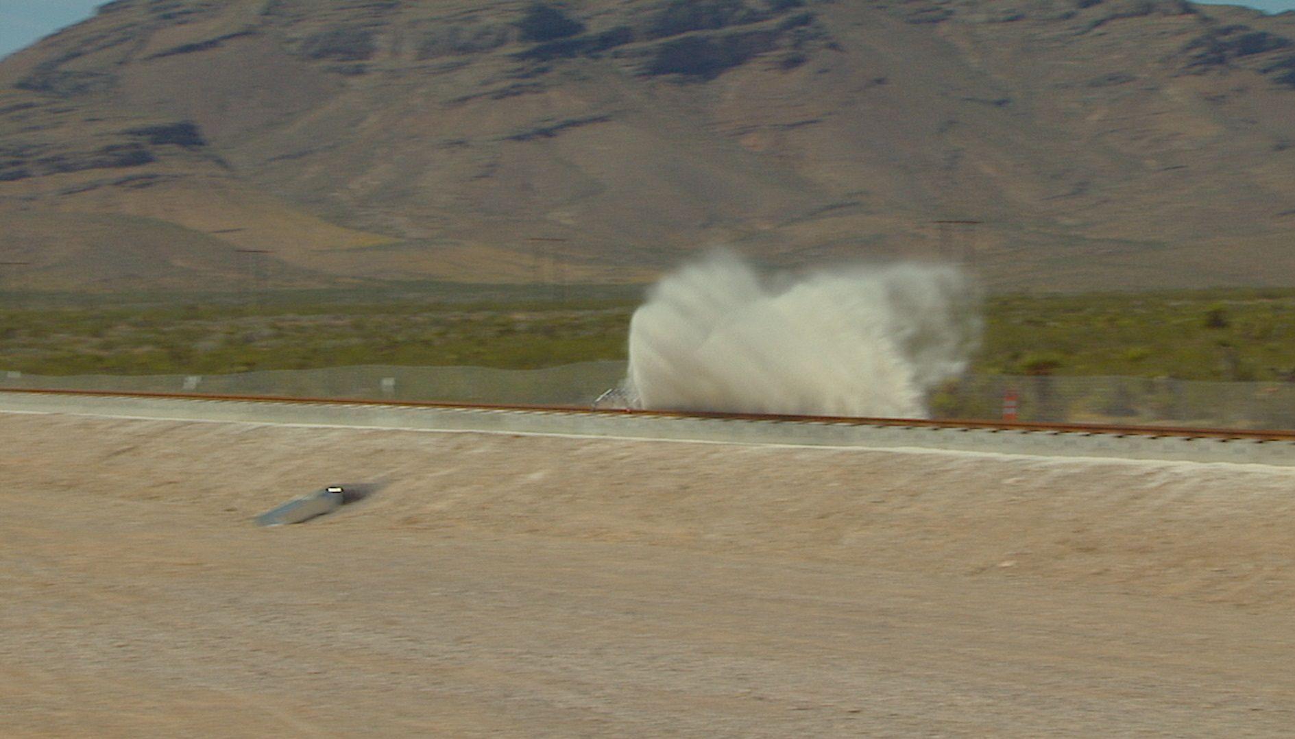 Hyperloop One test video watch