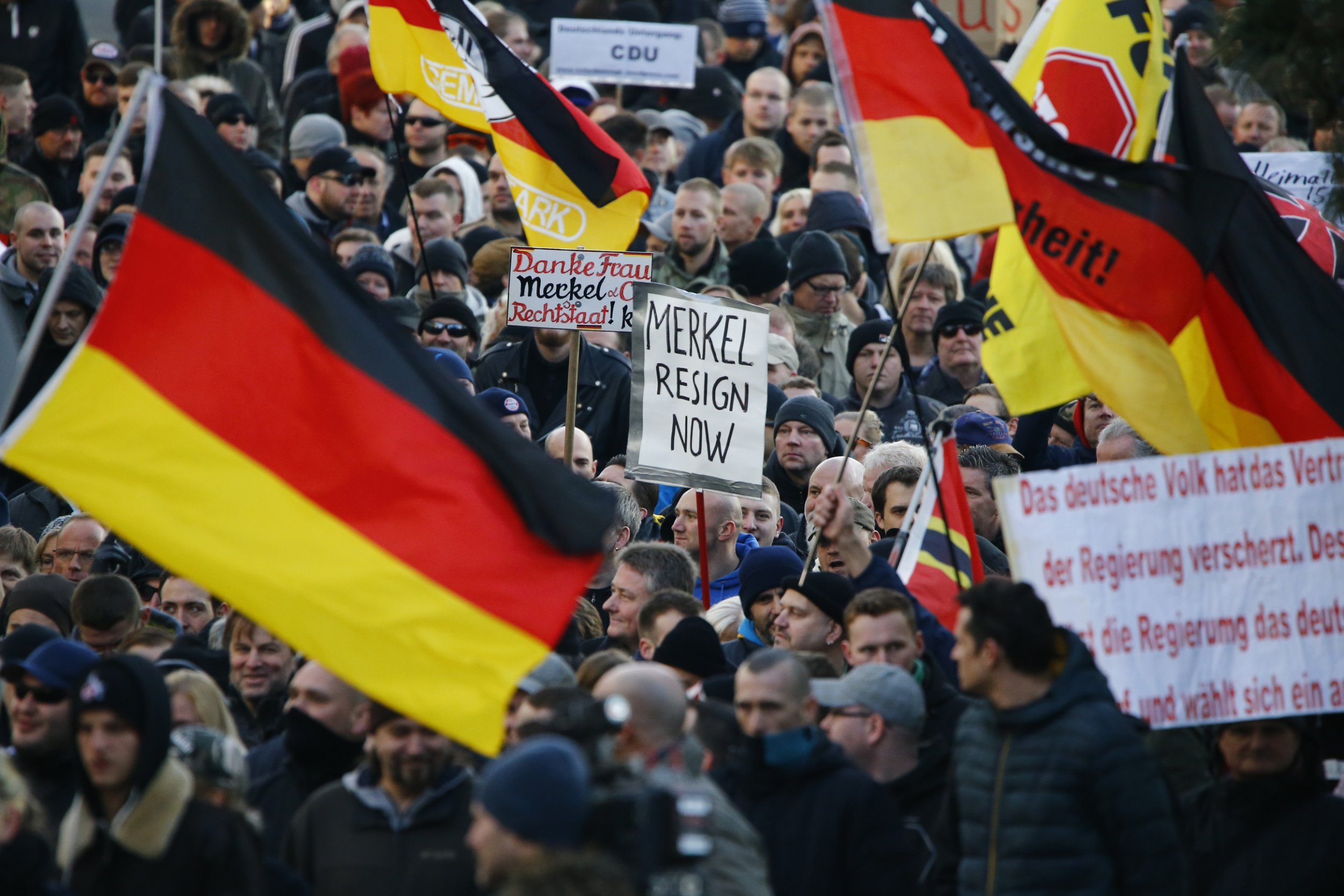 Pegida demonstration