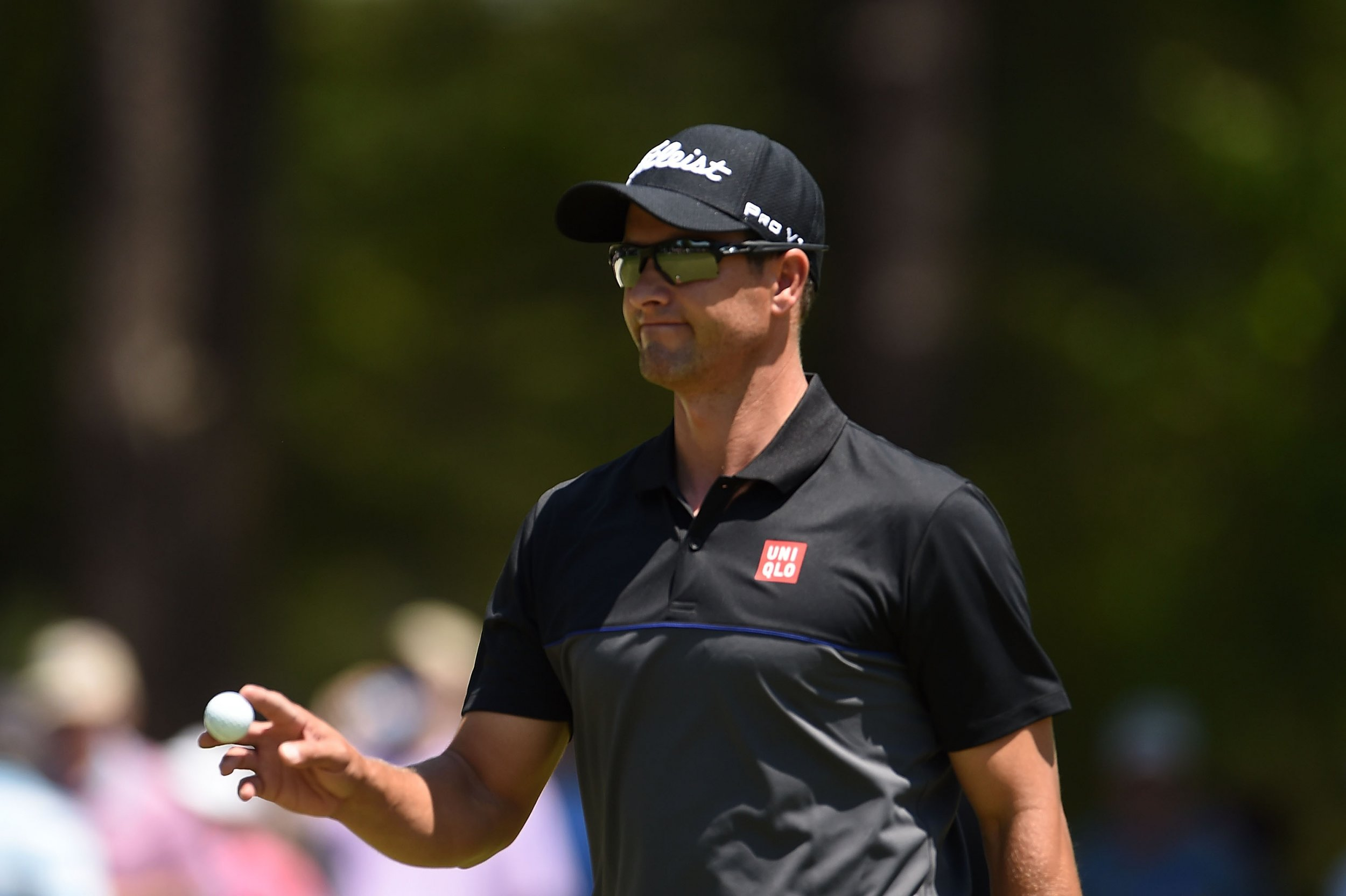 Golfer Adam Scott