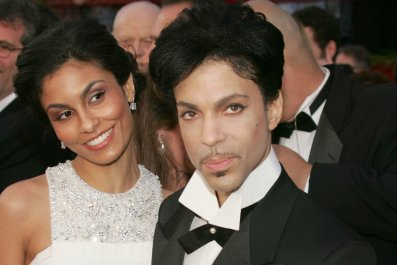 Prince with Manuela Testolini