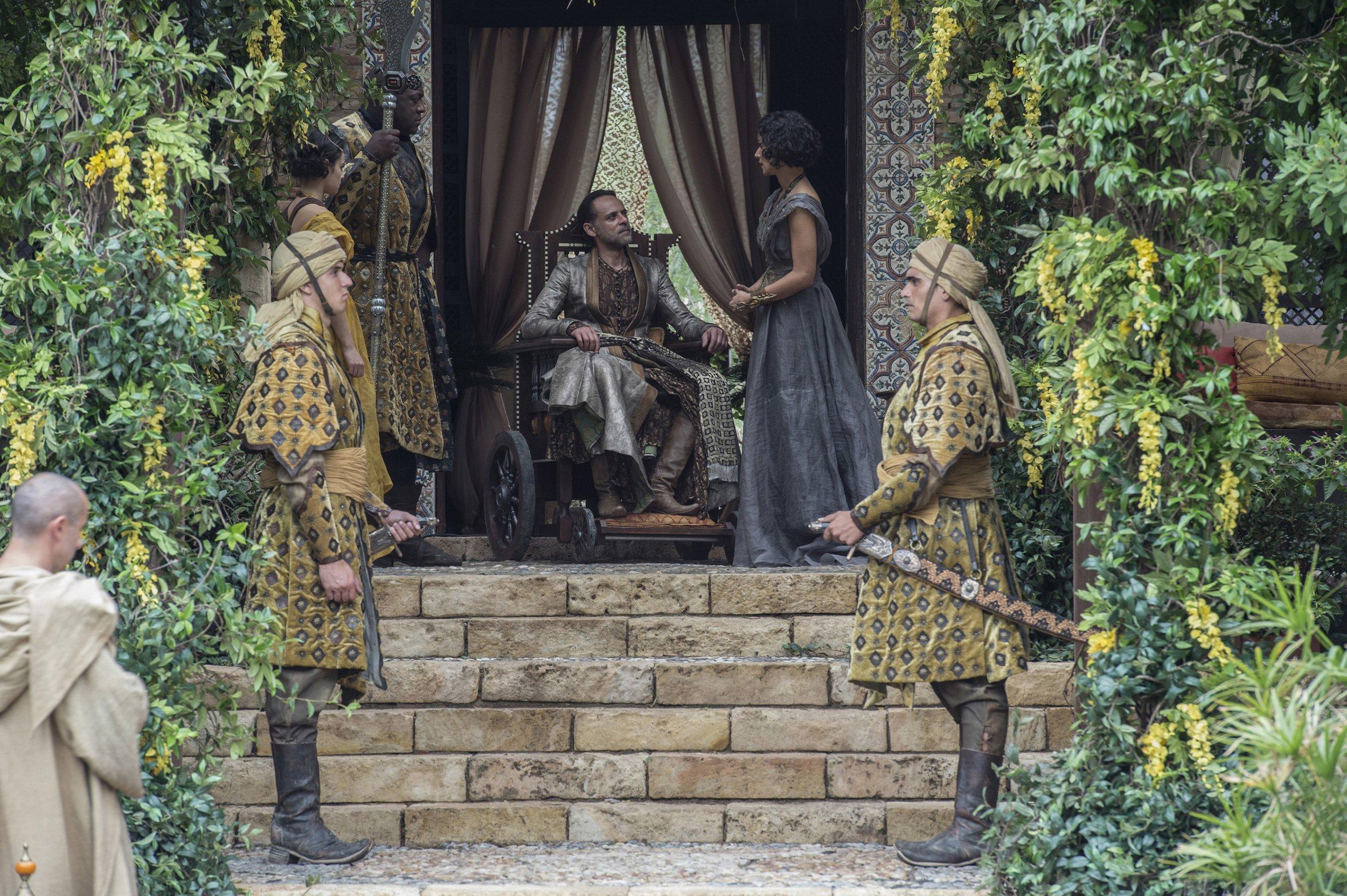 Prince Doran and Elia Sand in Dorne
