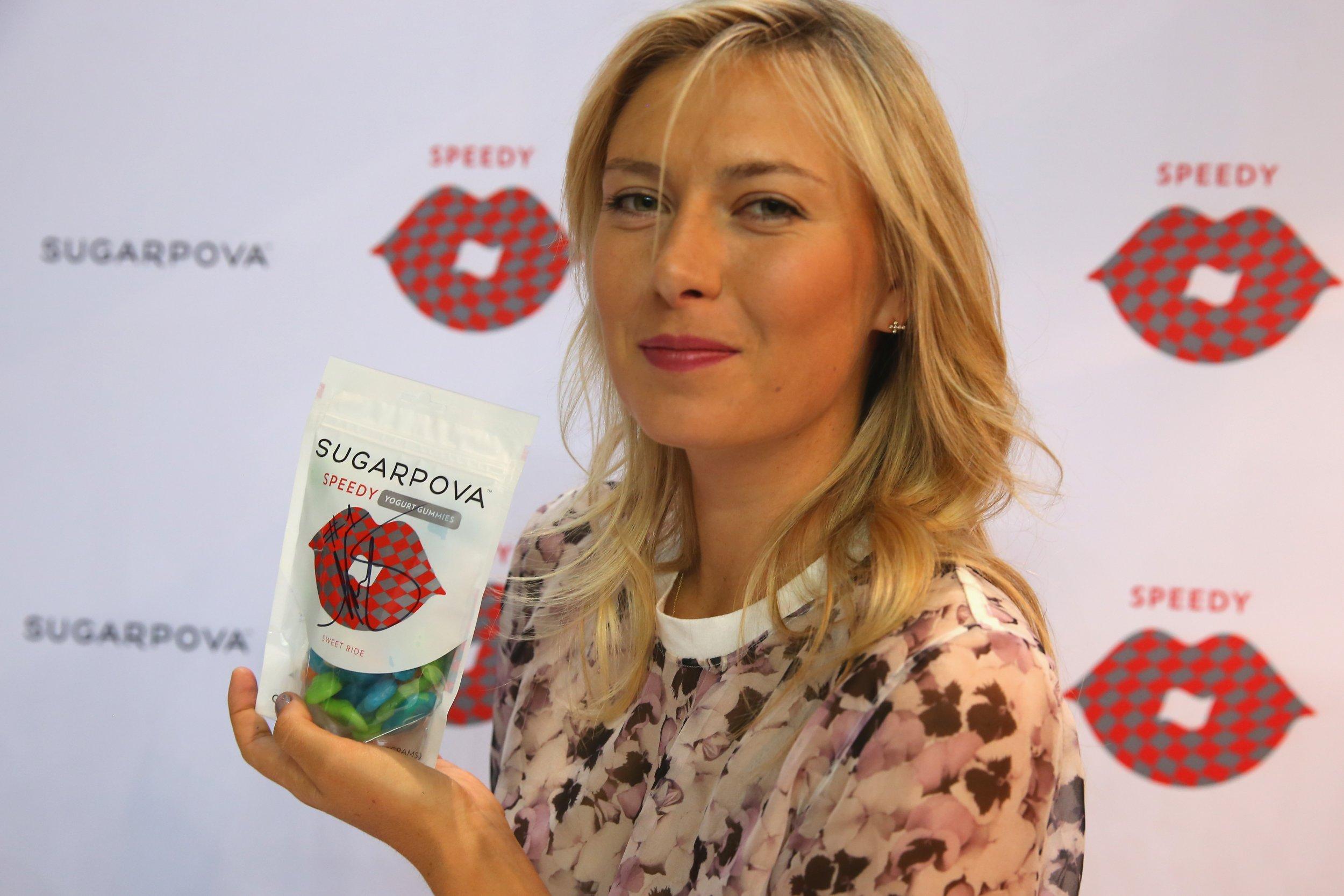 Maria Sharapova Launches Range Of Chocolate