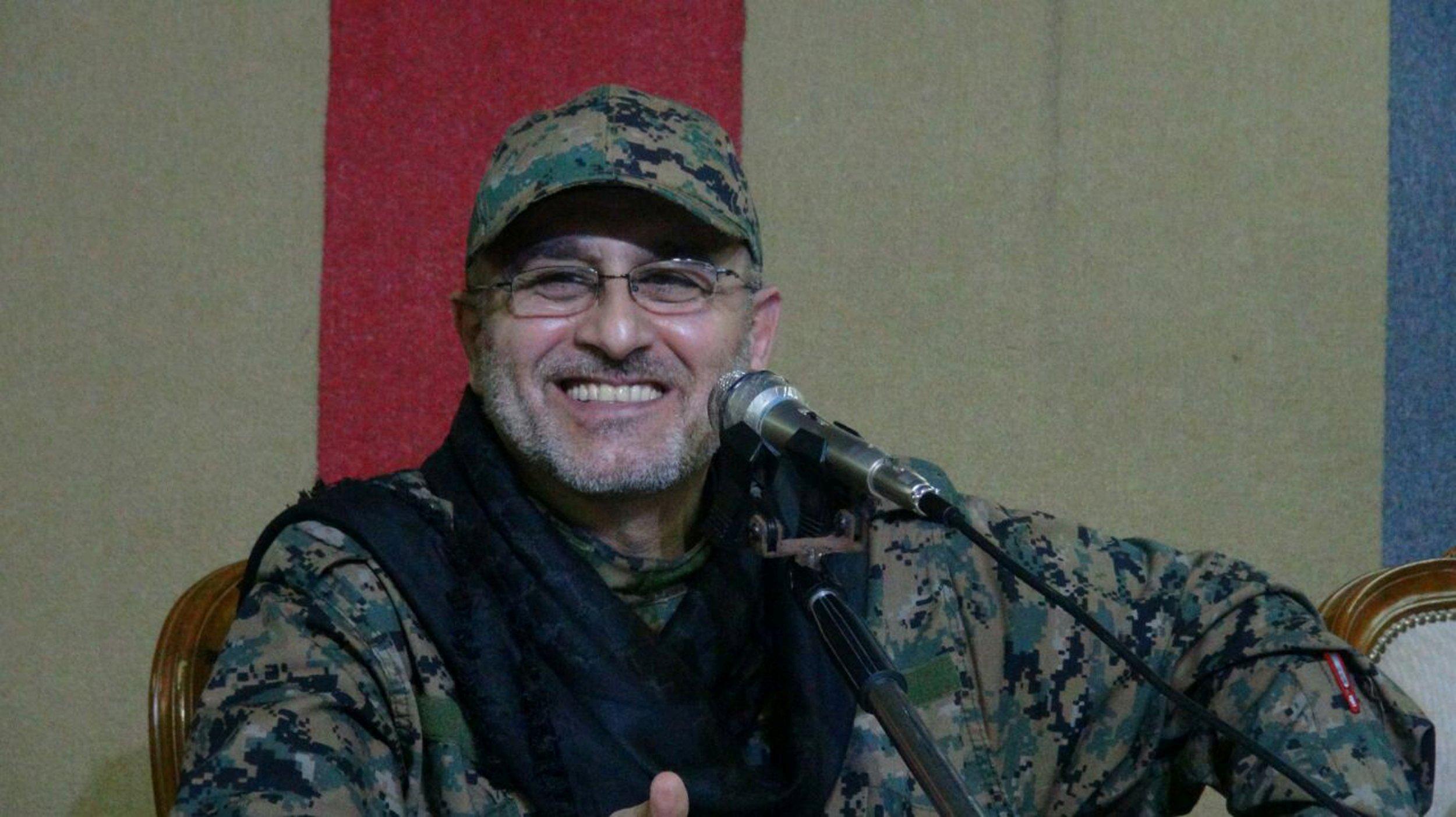 Hezbollah military commander Mustafa Badreddine