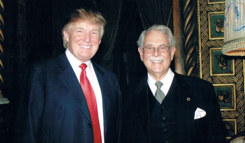 Anthony Senecal with Donald Trump.