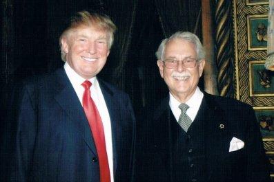 Anthony Senecal with Donald Trump.