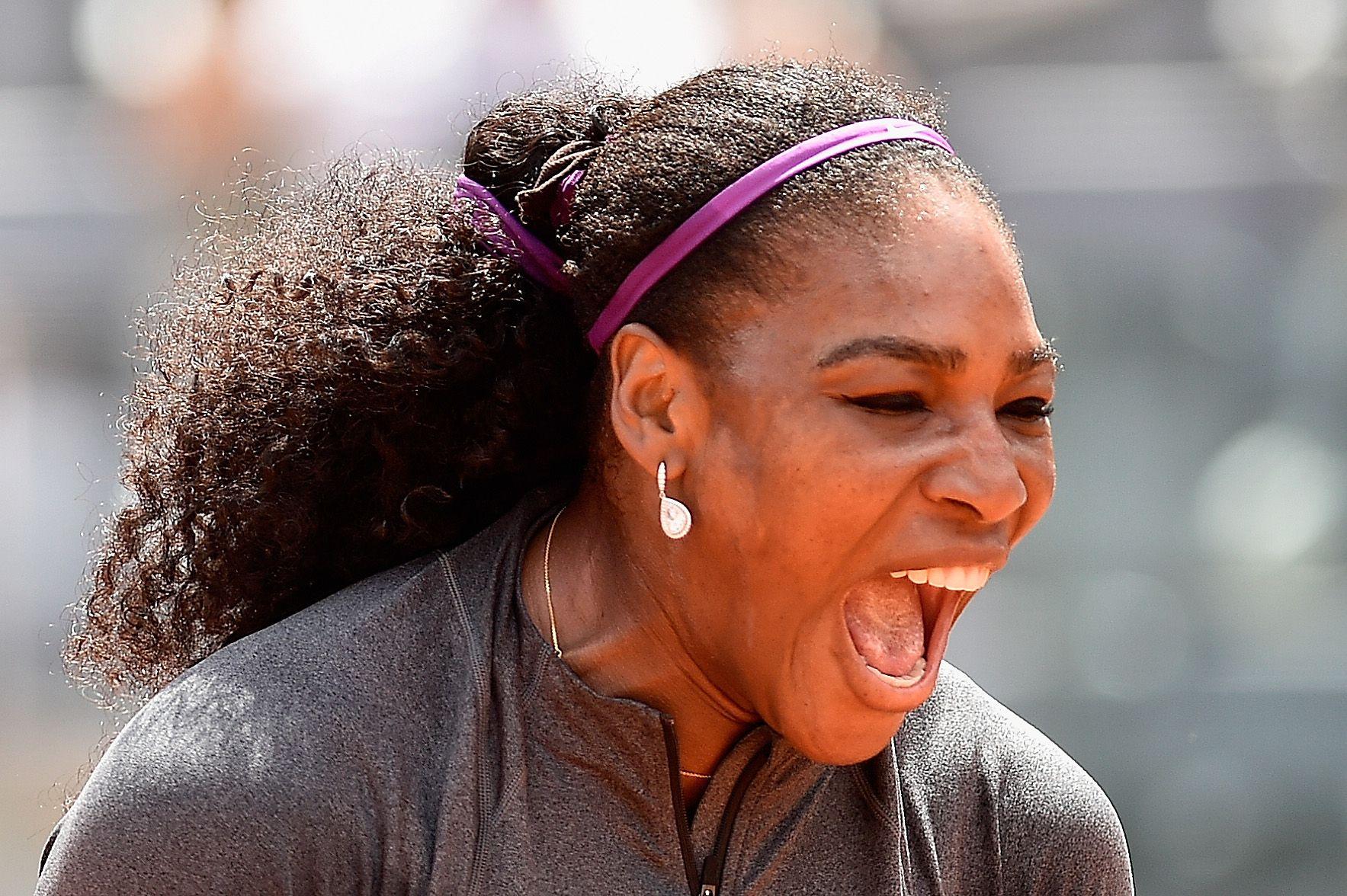 Serena Williams Eats Dog Food Gets Sick Wins Anyway